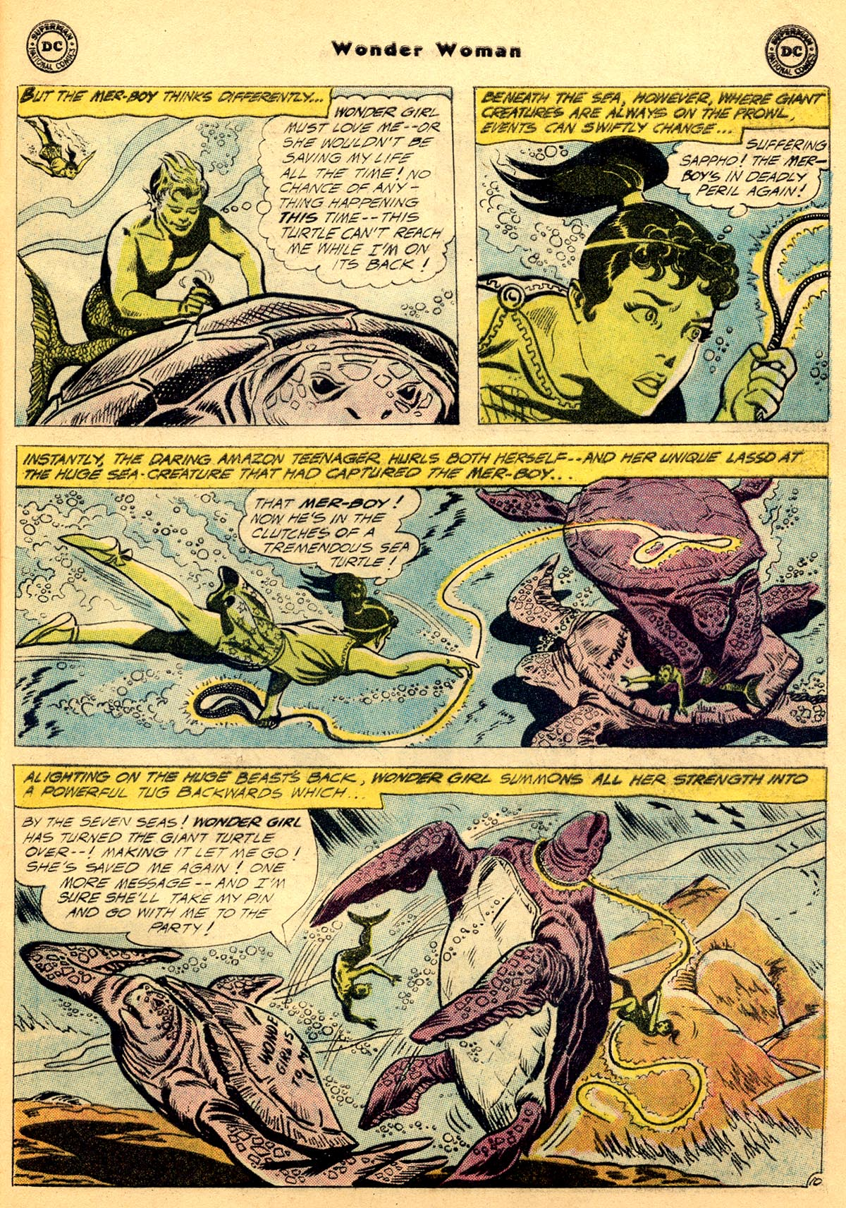 Read online Wonder Woman (1942) comic -  Issue #115 - 29