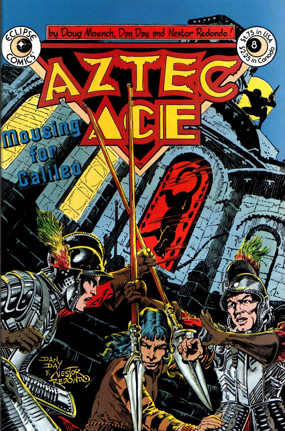Read online Aztec Ace comic -  Issue #8 - 1