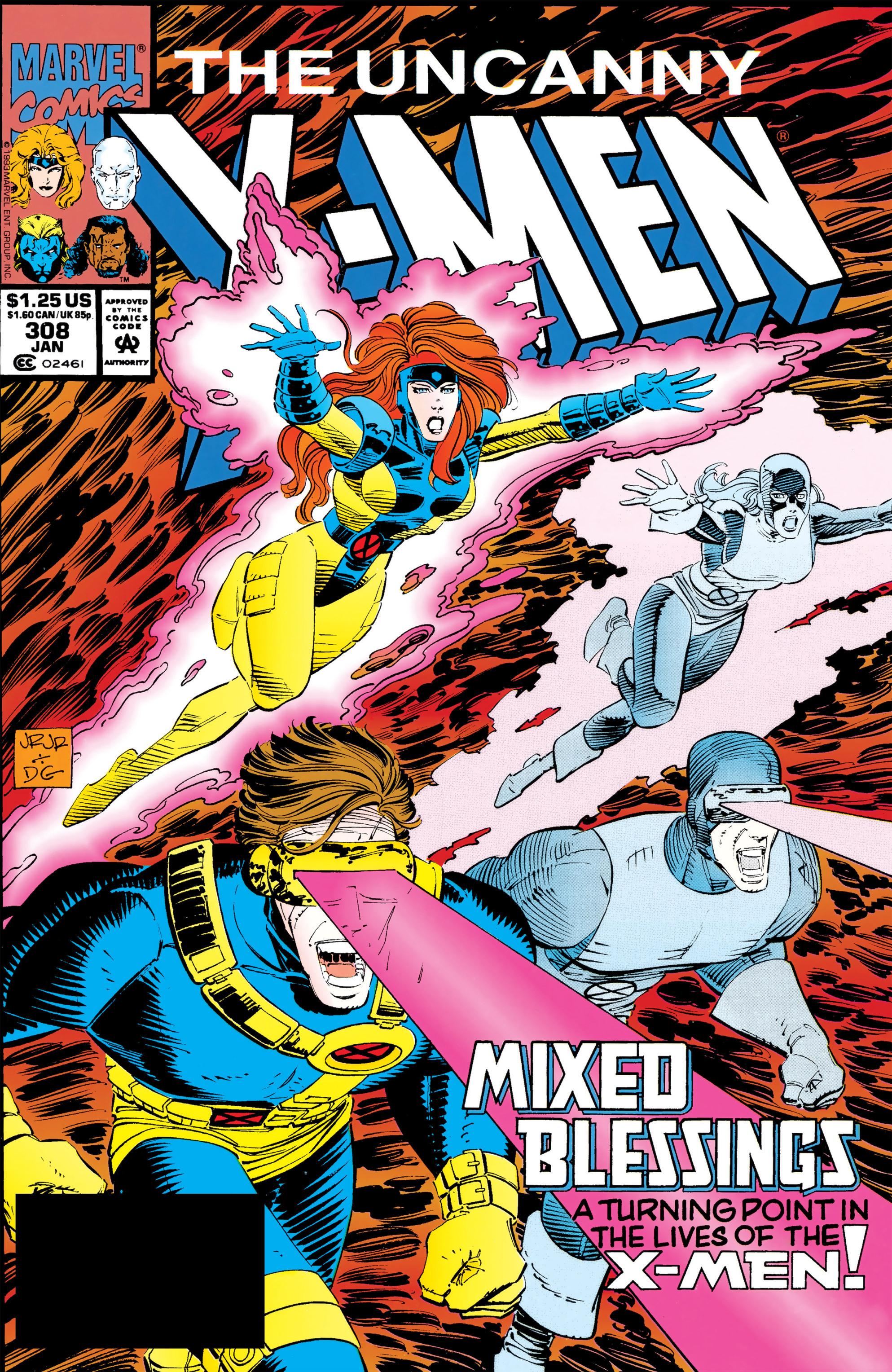 Read online Uncanny X-Men (1963) comic -  Issue #308 - 1