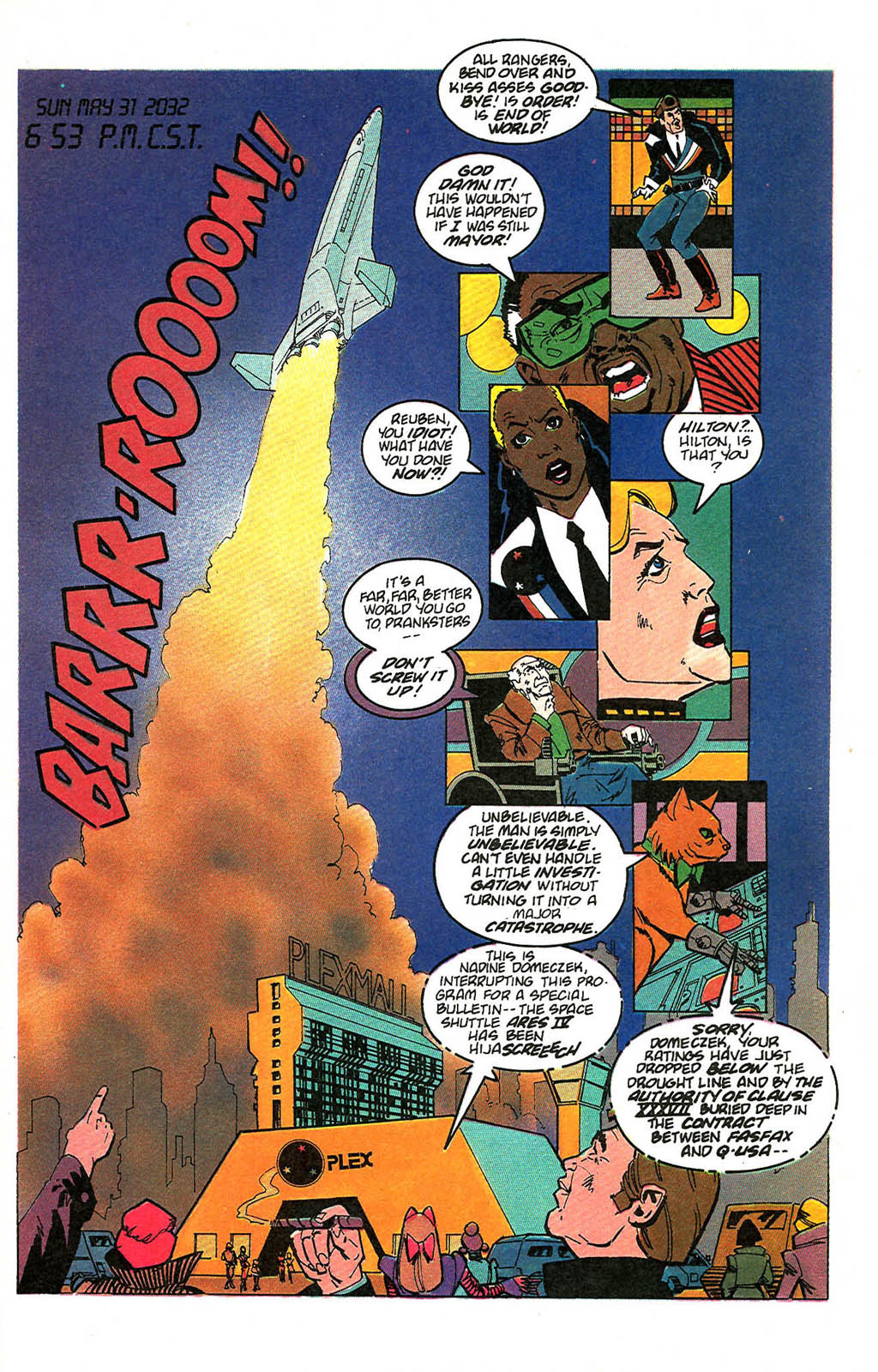 Read online American Flagg! comic -  Issue #49 - 3