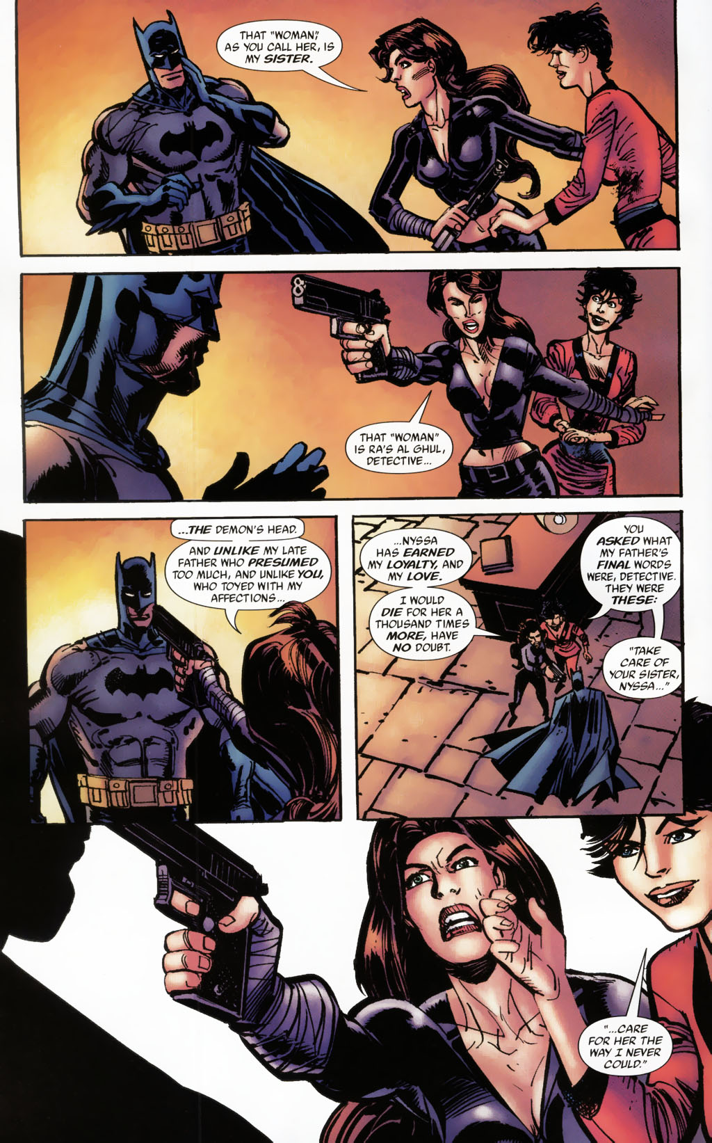 Read online Batman: Death and the Maidens comic -  Issue #9 - 21