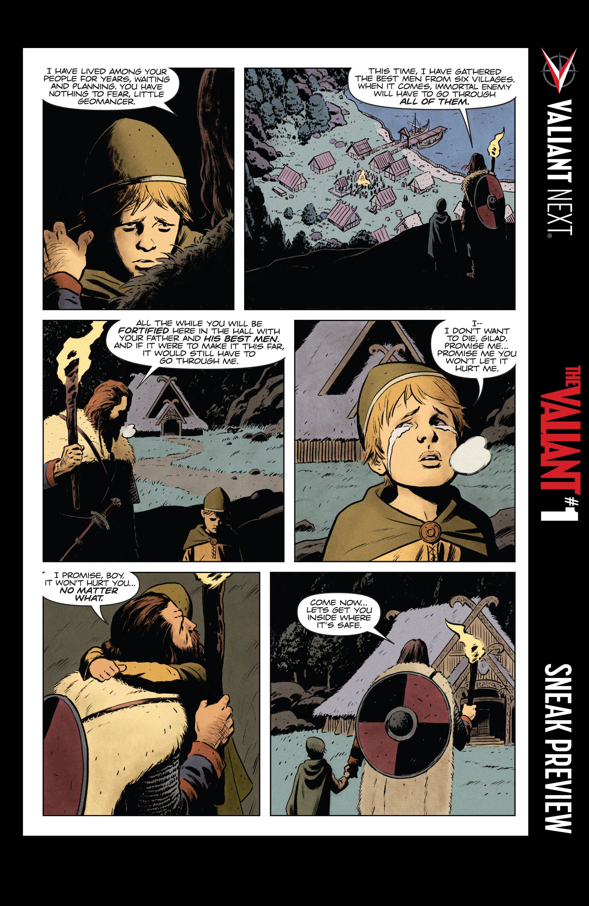 Read online Eternal Warrior: Days of Steel comic -  Issue #1 - 26