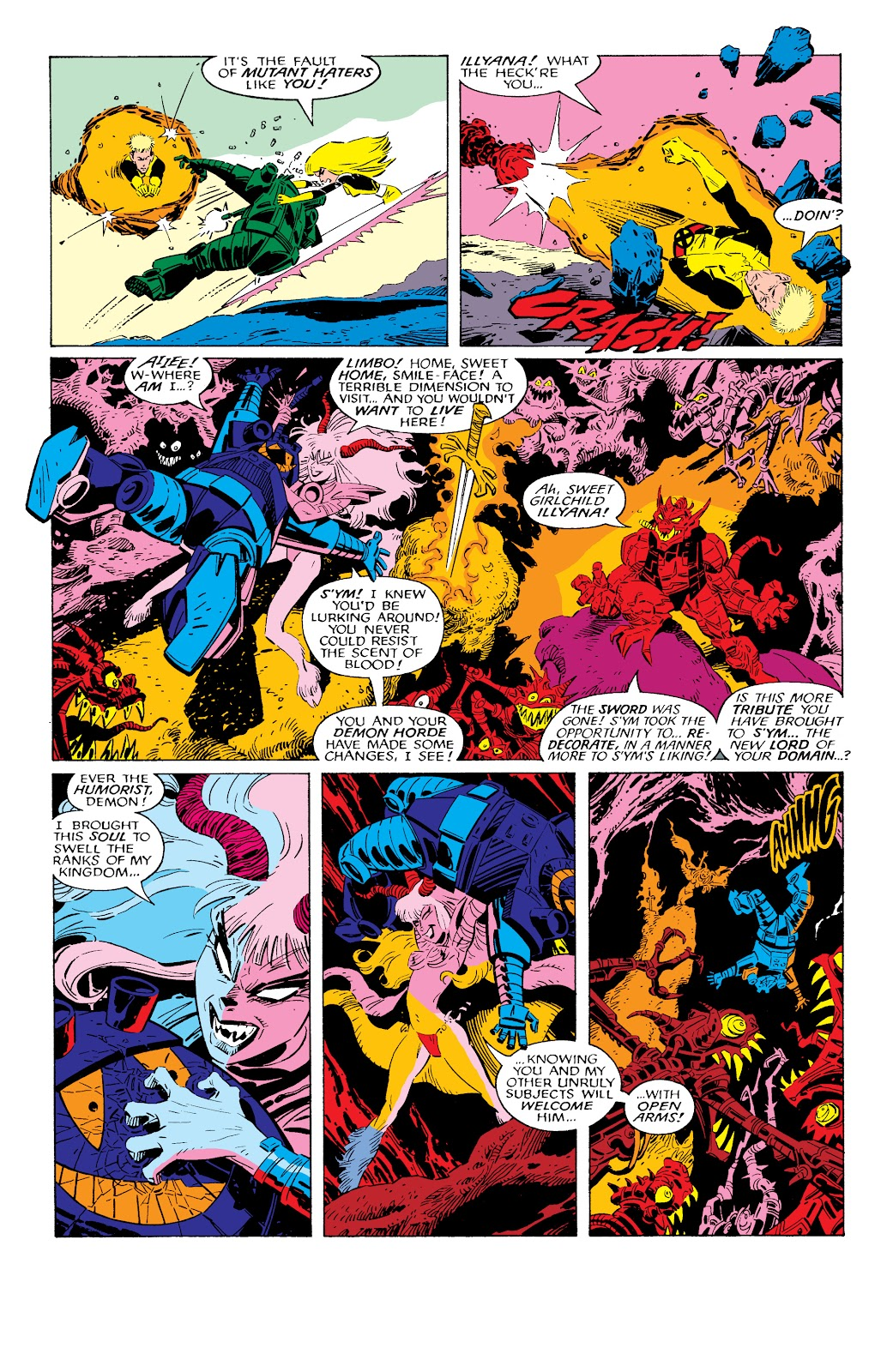 Read online X-Men Milestones: Fall of the Mutants comic -  Issue # TPB (Part 2) - 60