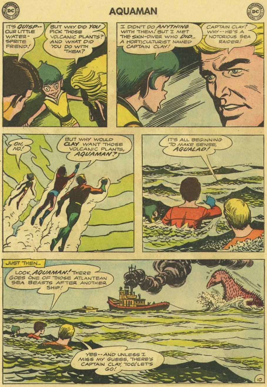 Read online Aquaman (1962) comic -  Issue #7 - 14
