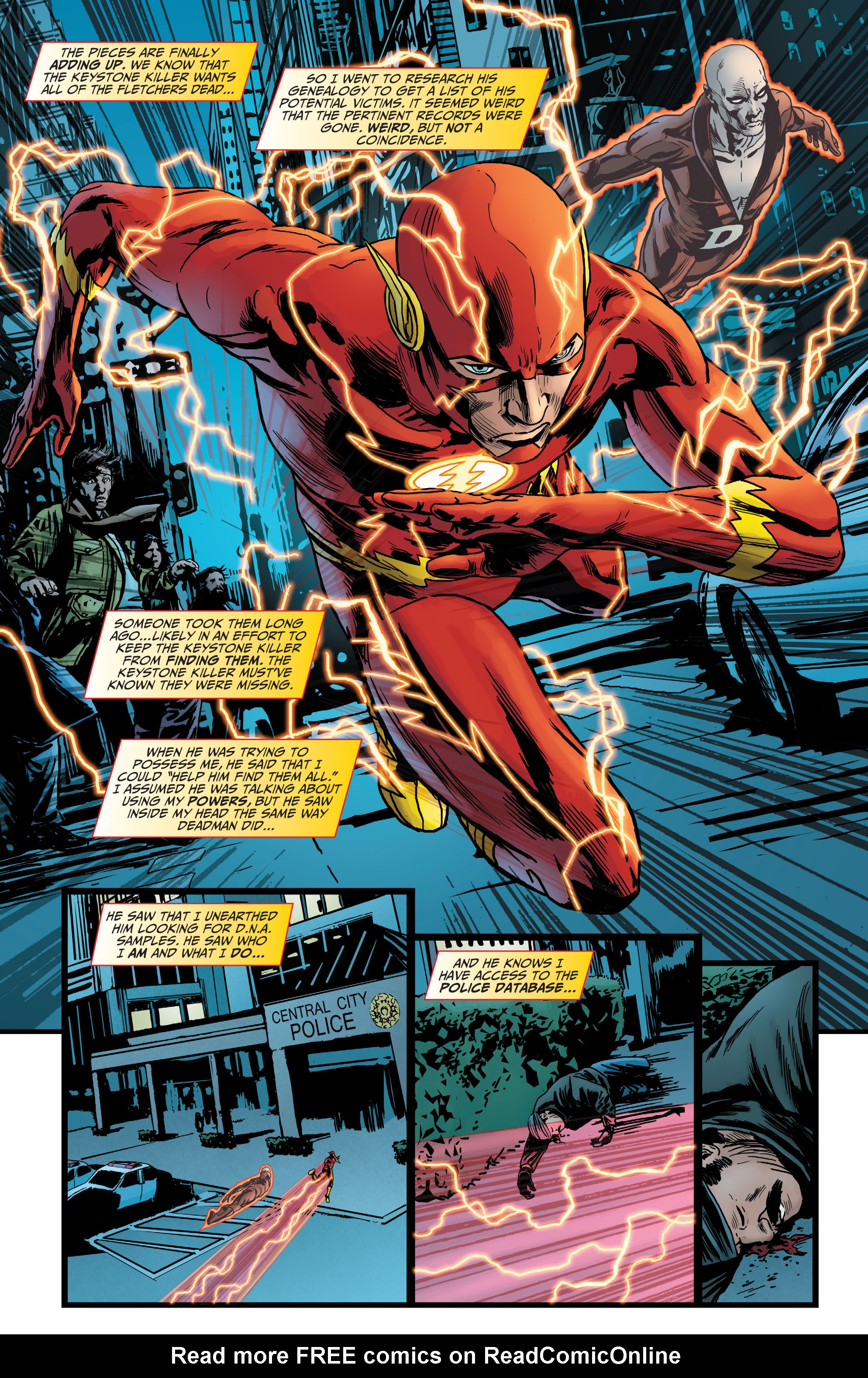 Read online The Flash (2011) comic -  Issue # _TPB 5 - 102