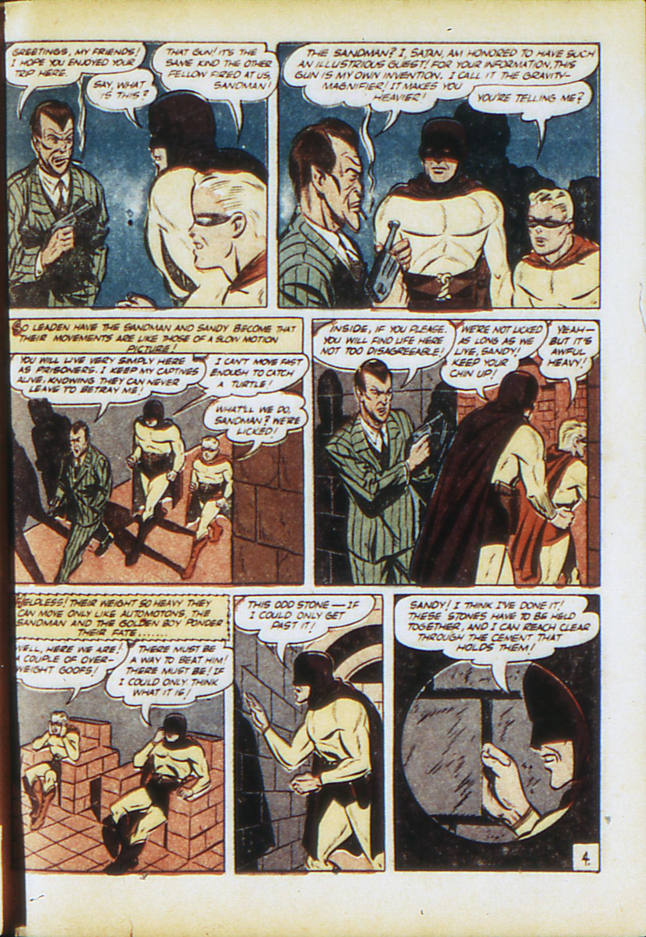 Read online Adventure Comics (1938) comic -  Issue #71 - 62