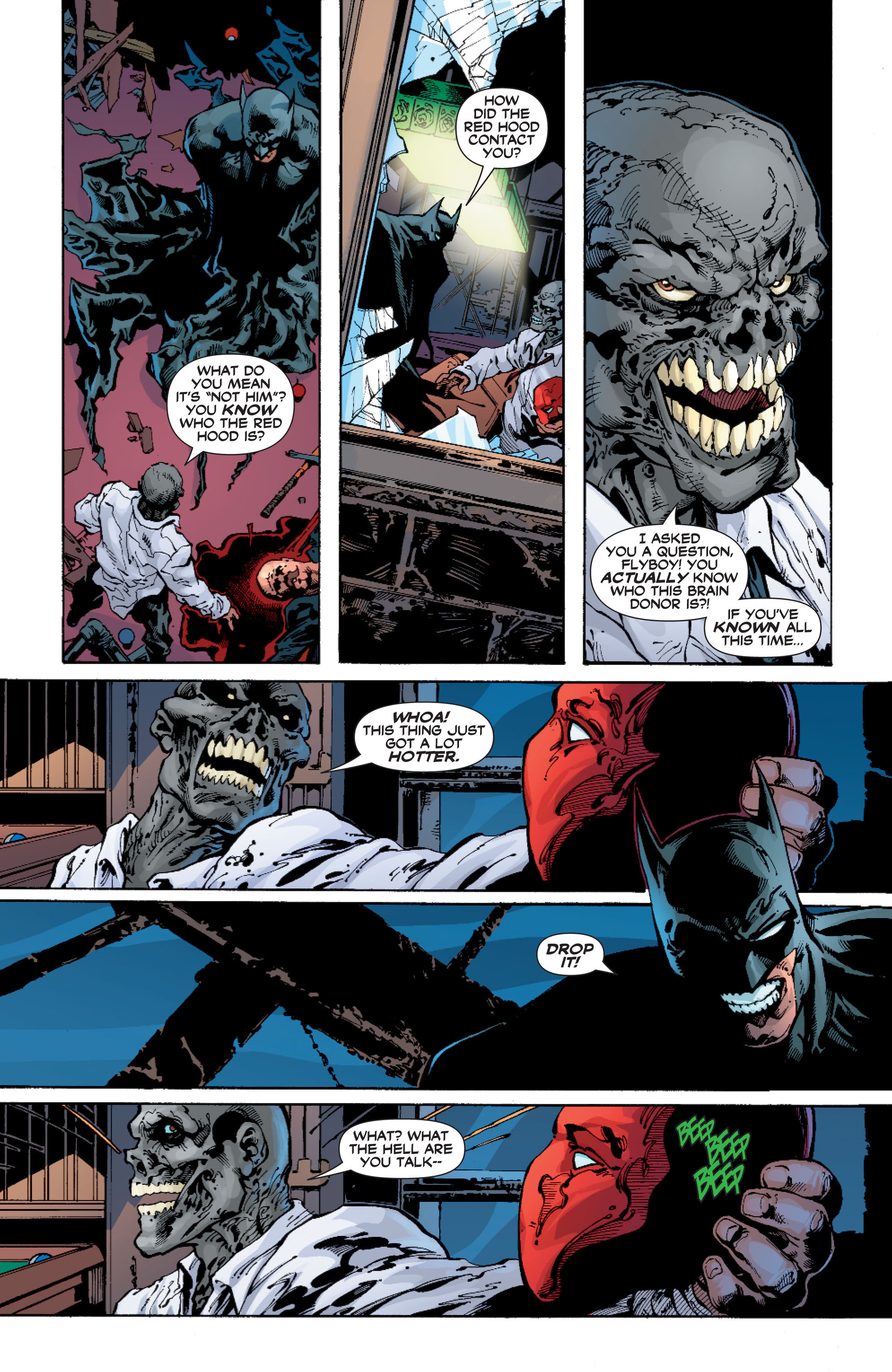 Read online Batman: Under The Red Hood comic -  Issue # Full - 276