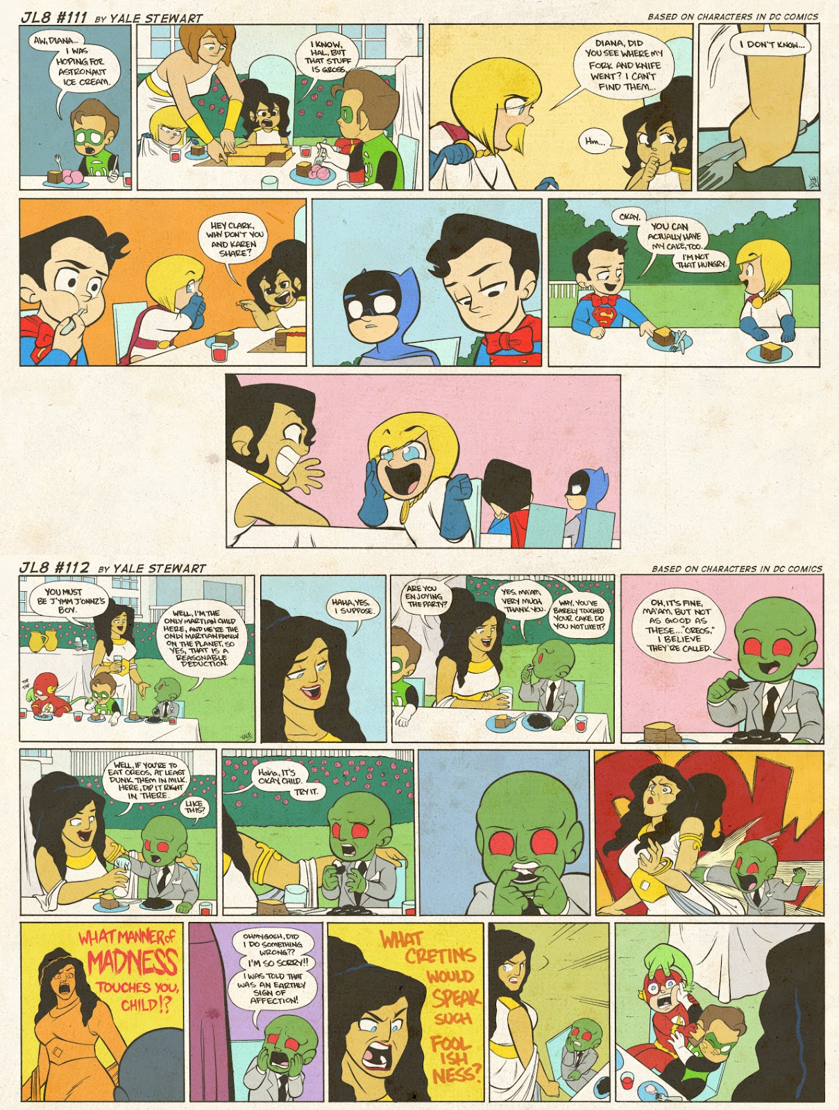 Read online JL8 – The Complete Collection comic -  Issue # TPB (Part 1) - 52