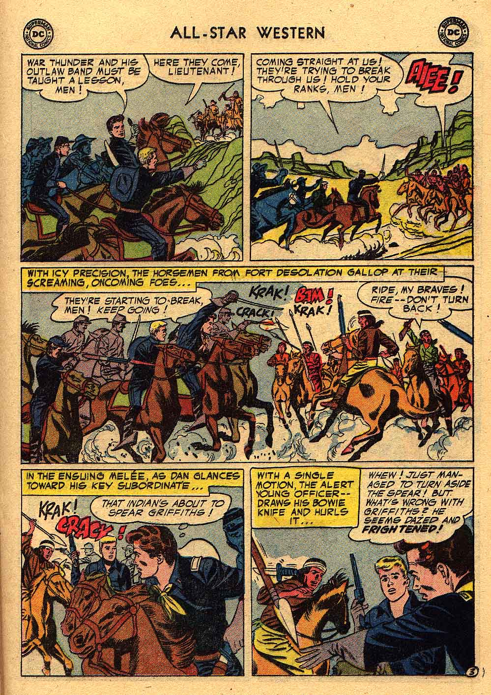 Read online All-Star Western (1951) comic -  Issue #80 - 21