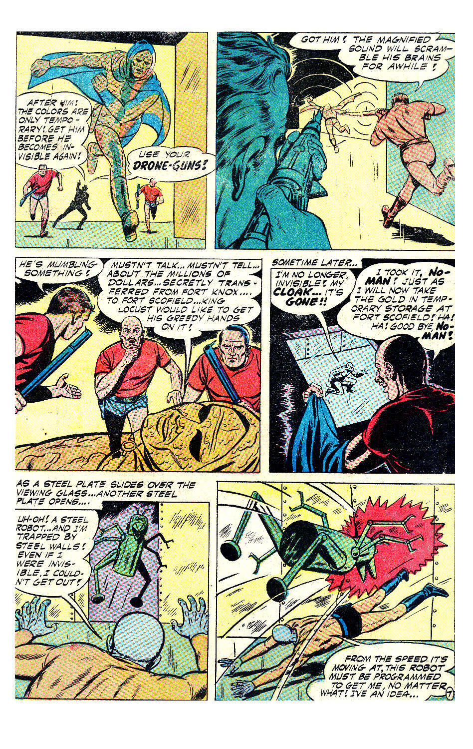 T.H.U.N.D.E.R. Agents (1965) issue 17 - Page 22