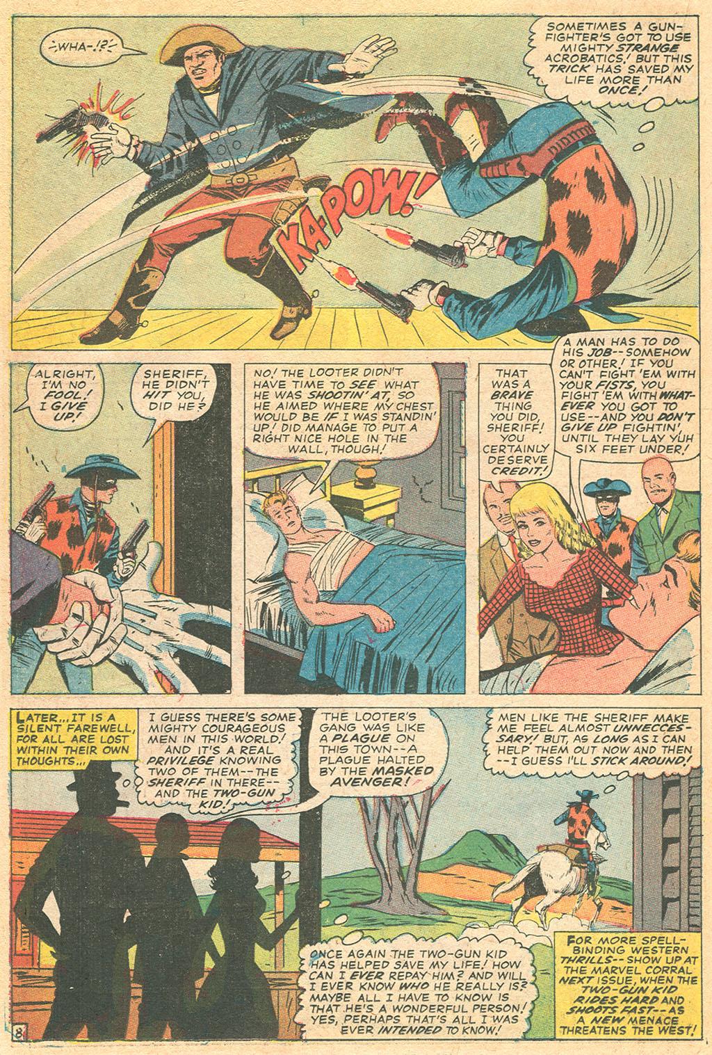 Read online Two-Gun Kid comic -  Issue #86 - 22