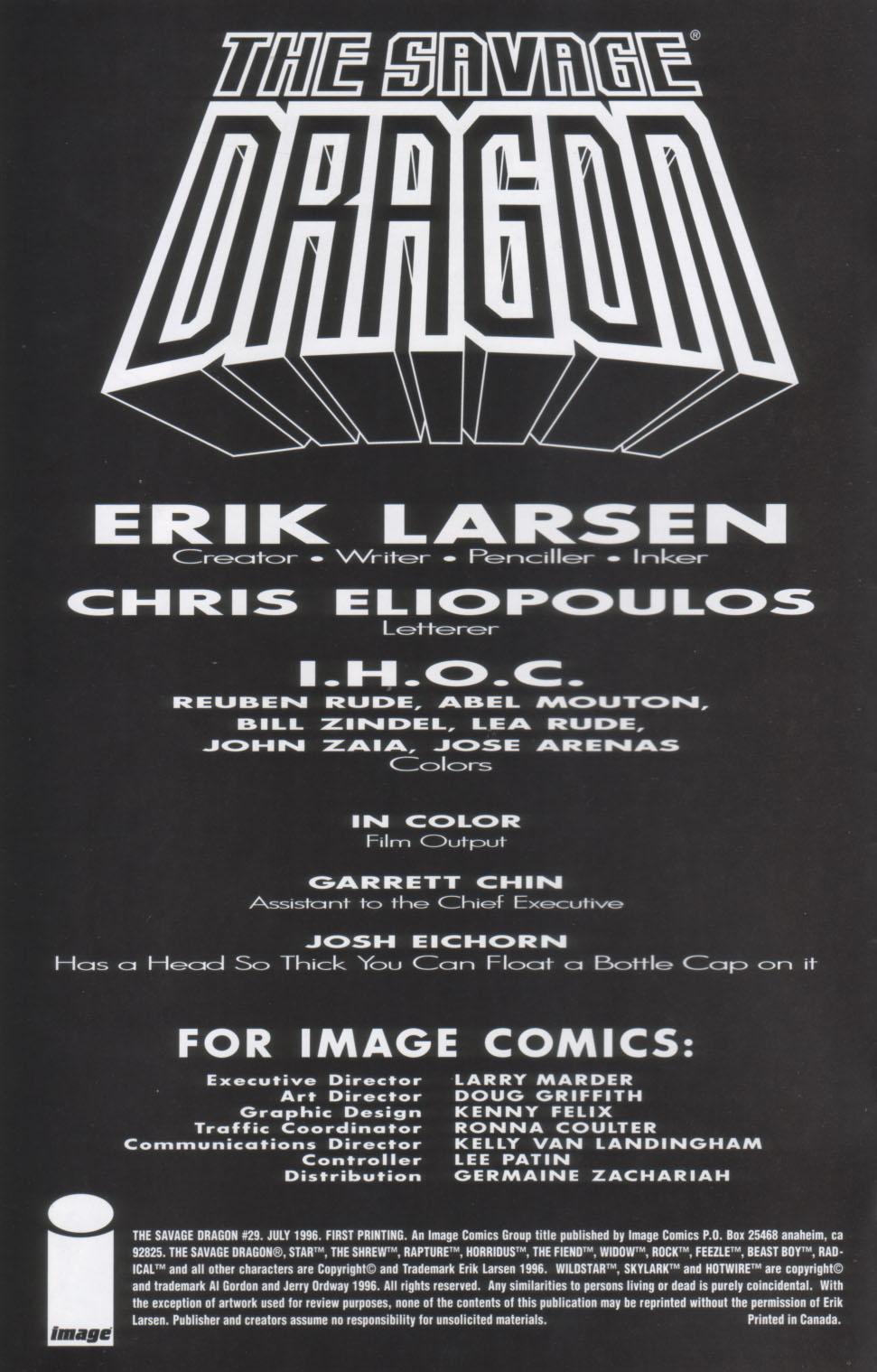 The Savage Dragon (1993) Issue #29 #32 - English 3
