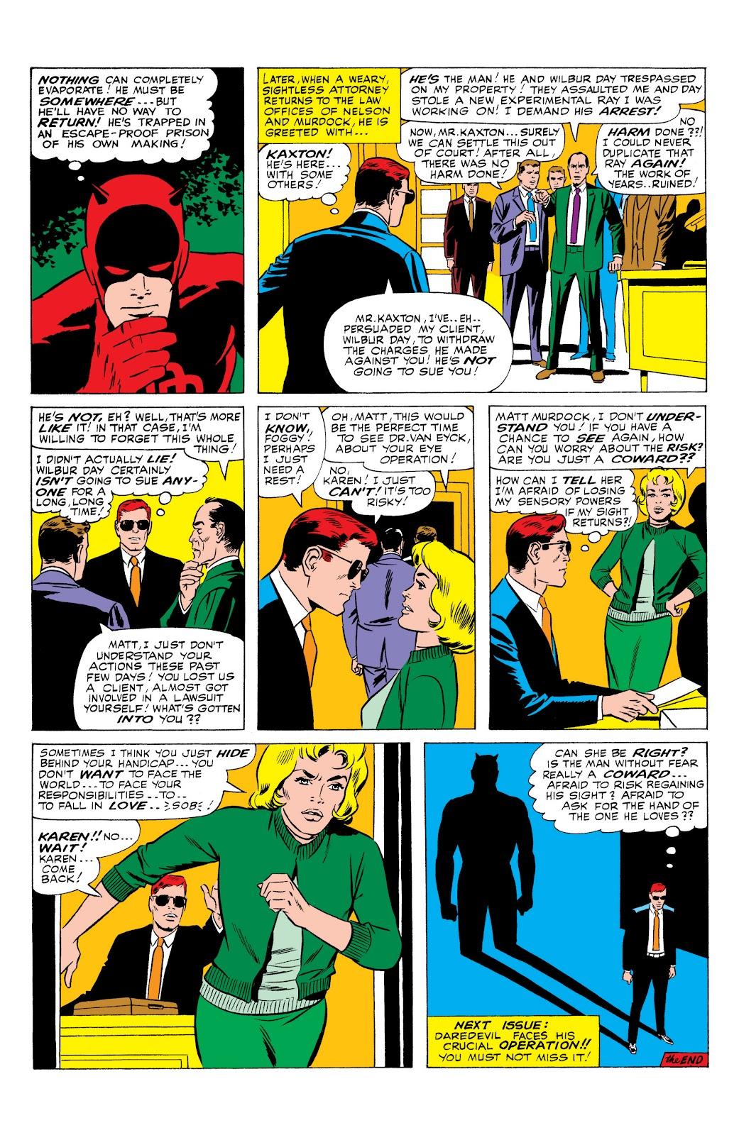 Read online Marvel Masterworks: Daredevil comic - Issue # TPB 1 (Part 2) - 84