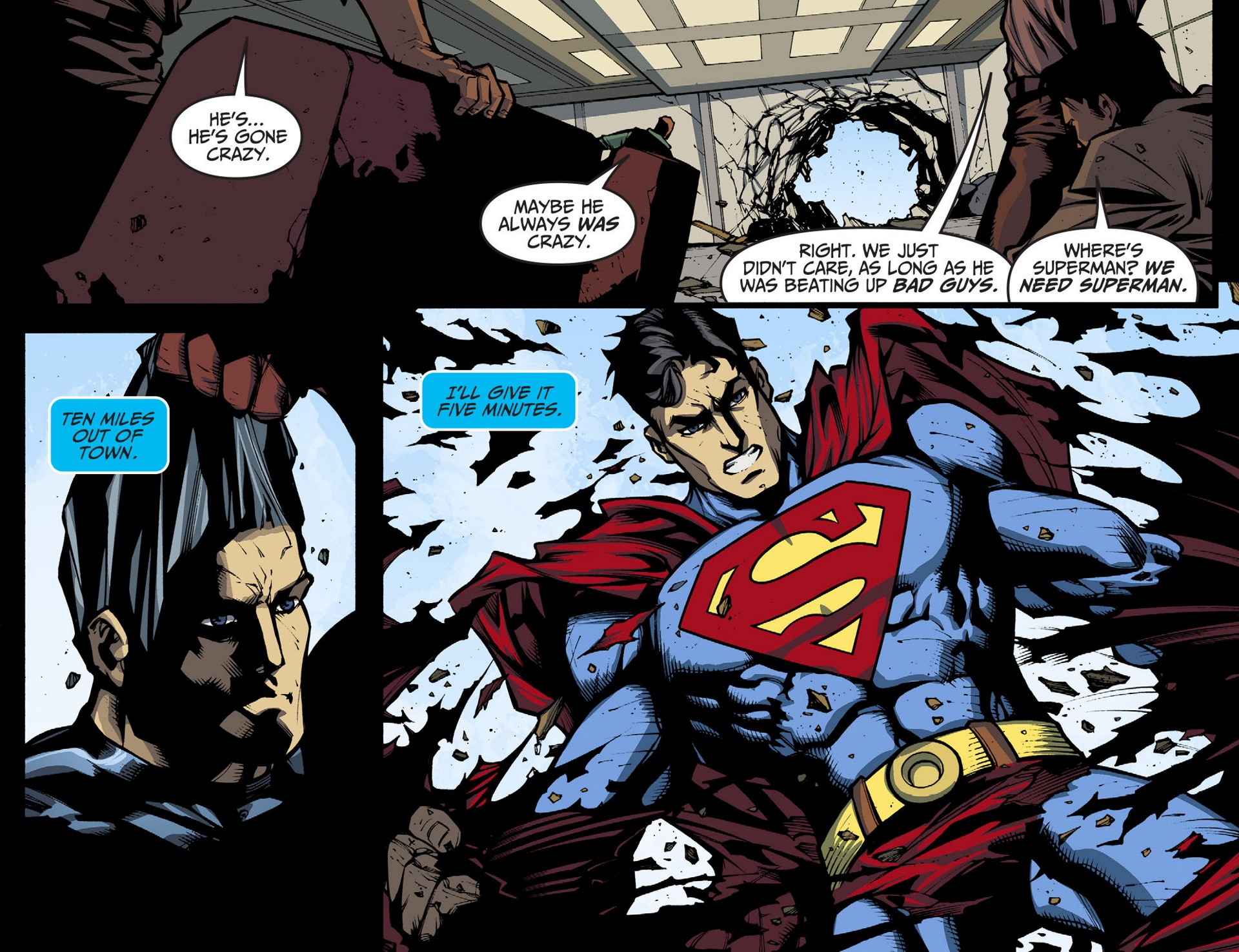 Read online Adventures of Superman [I] comic -  Issue #36 - 14