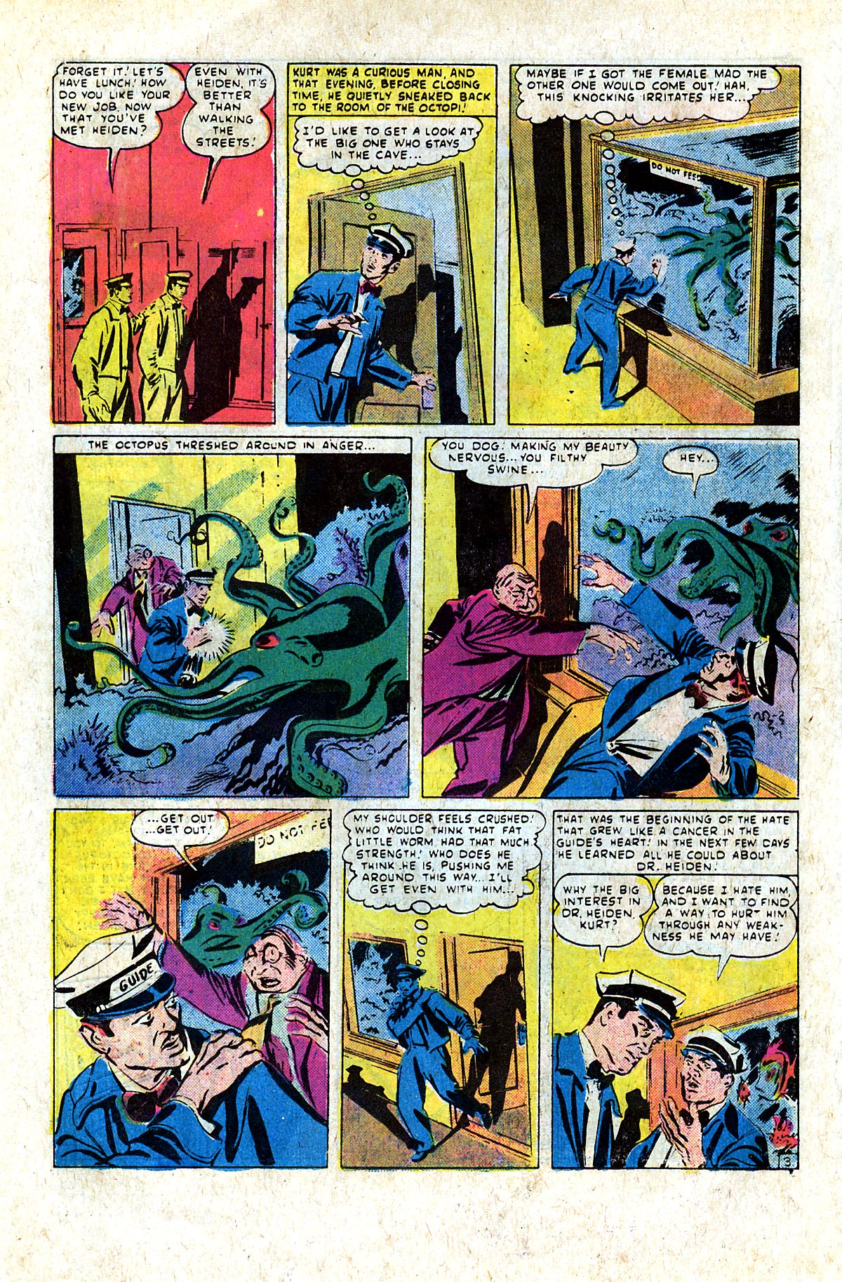 Read online Adventures into Weird Worlds comic -  Issue #9 - 9