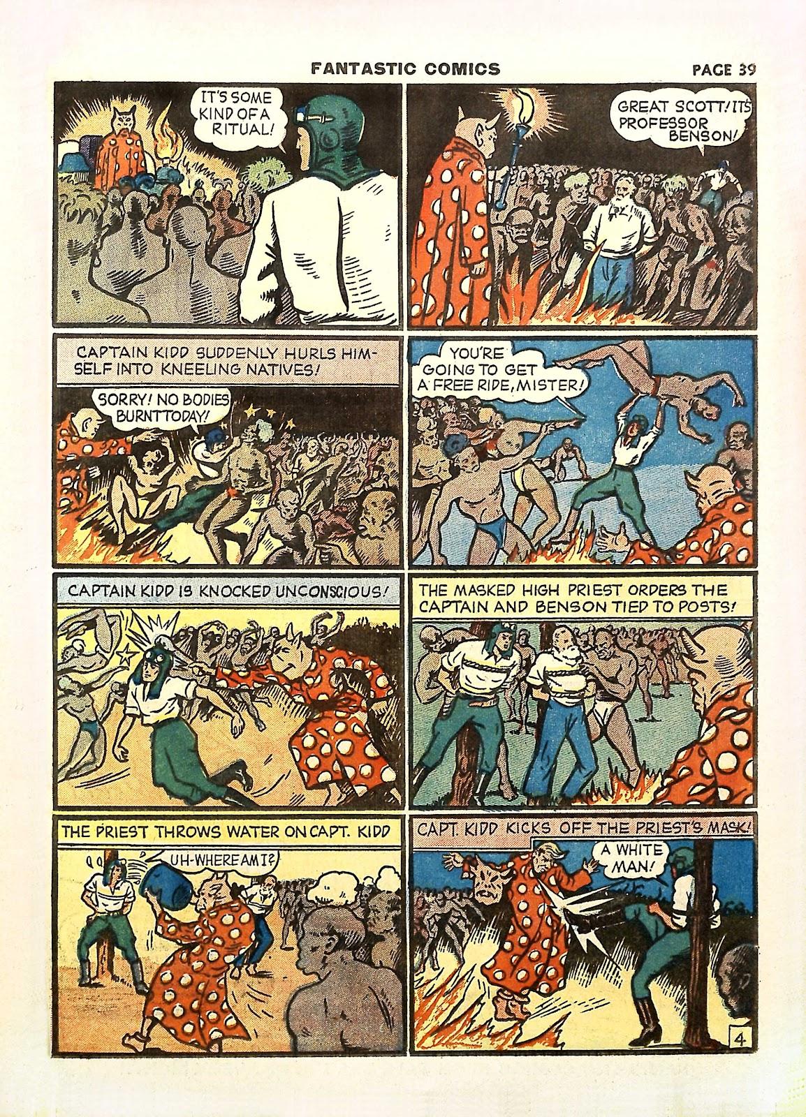 Read online Fantastic Comics comic -  Issue #11 - 42