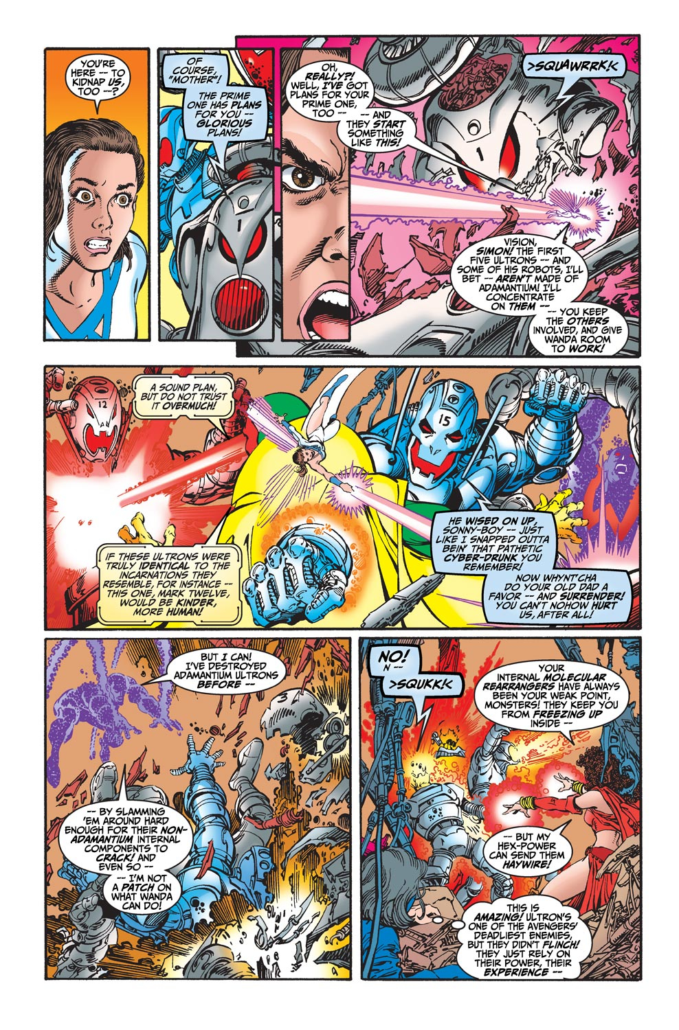 Read online Avengers (1998) comic -  Issue #20 - 16
