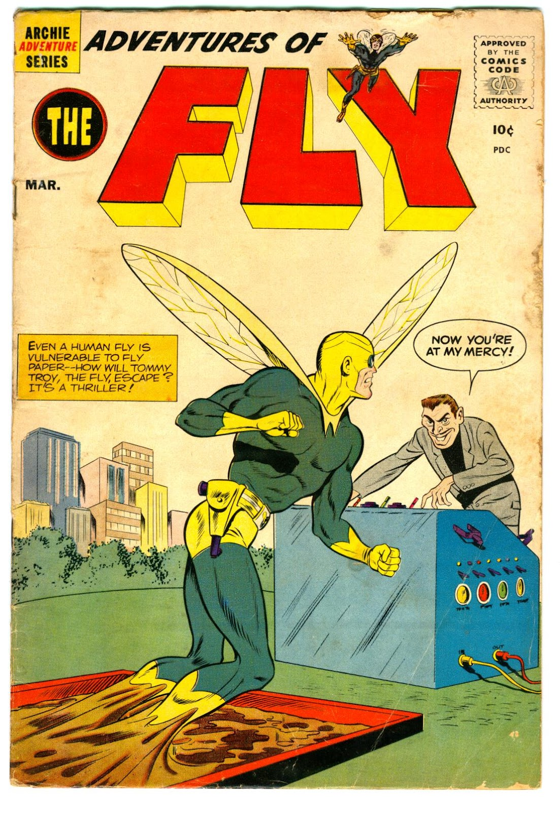 The Fly (1959) issue 5 - Page 1
