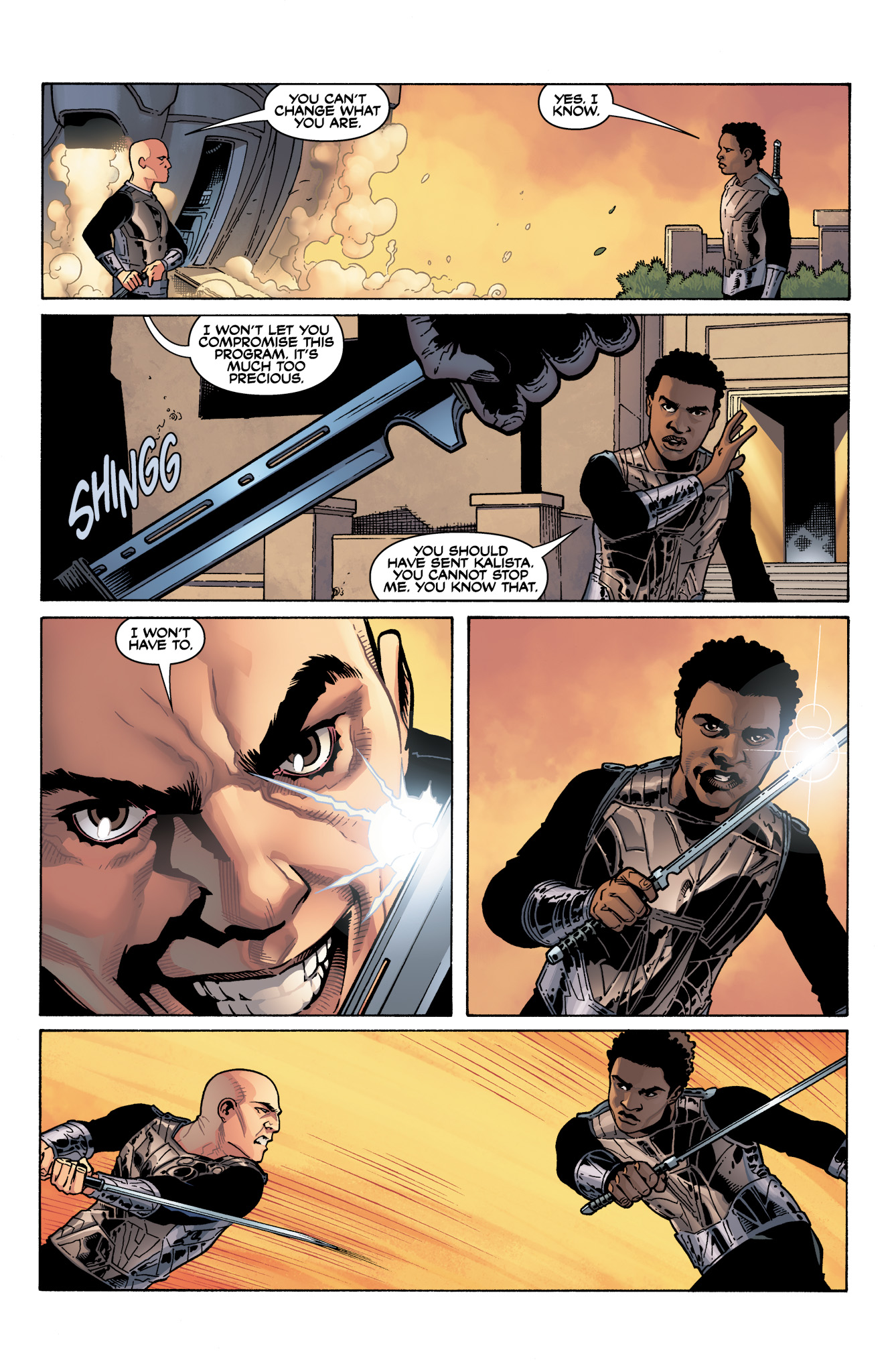 Read online Serenity: Firefly Class 03-K64  Leaves on the Wind comic -  Issue #4 - 21