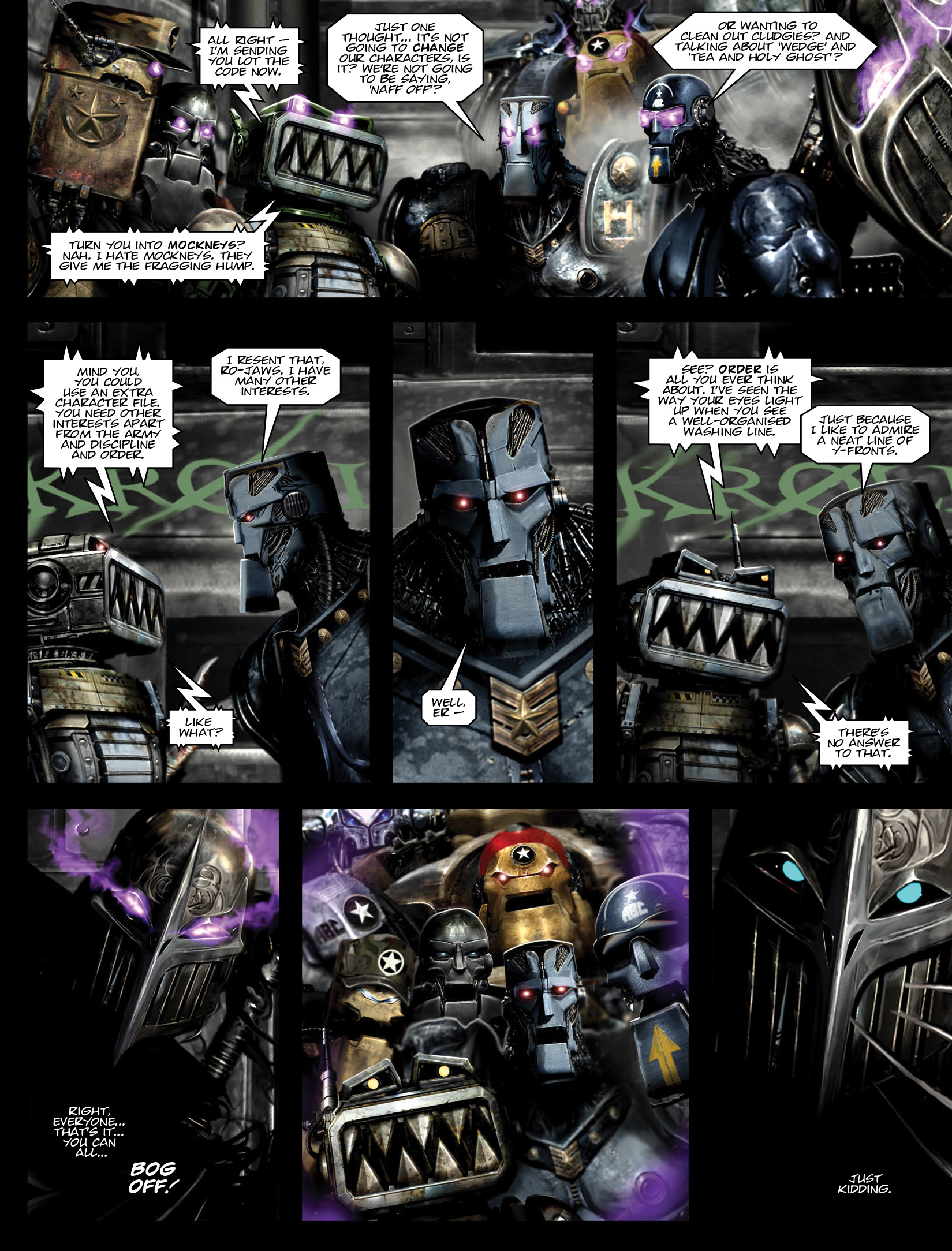 Read online 2000 AD comic -  Issue #1972 - 19