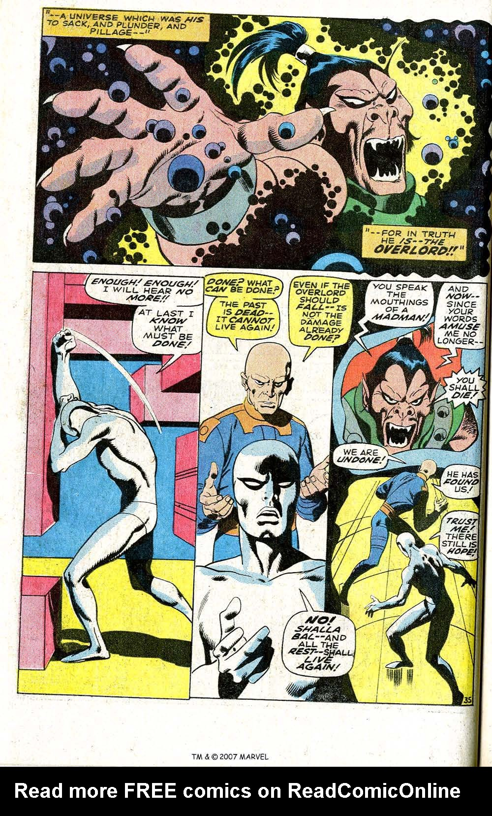 Read online Silver Surfer (1968) comic -  Issue #6 - 42