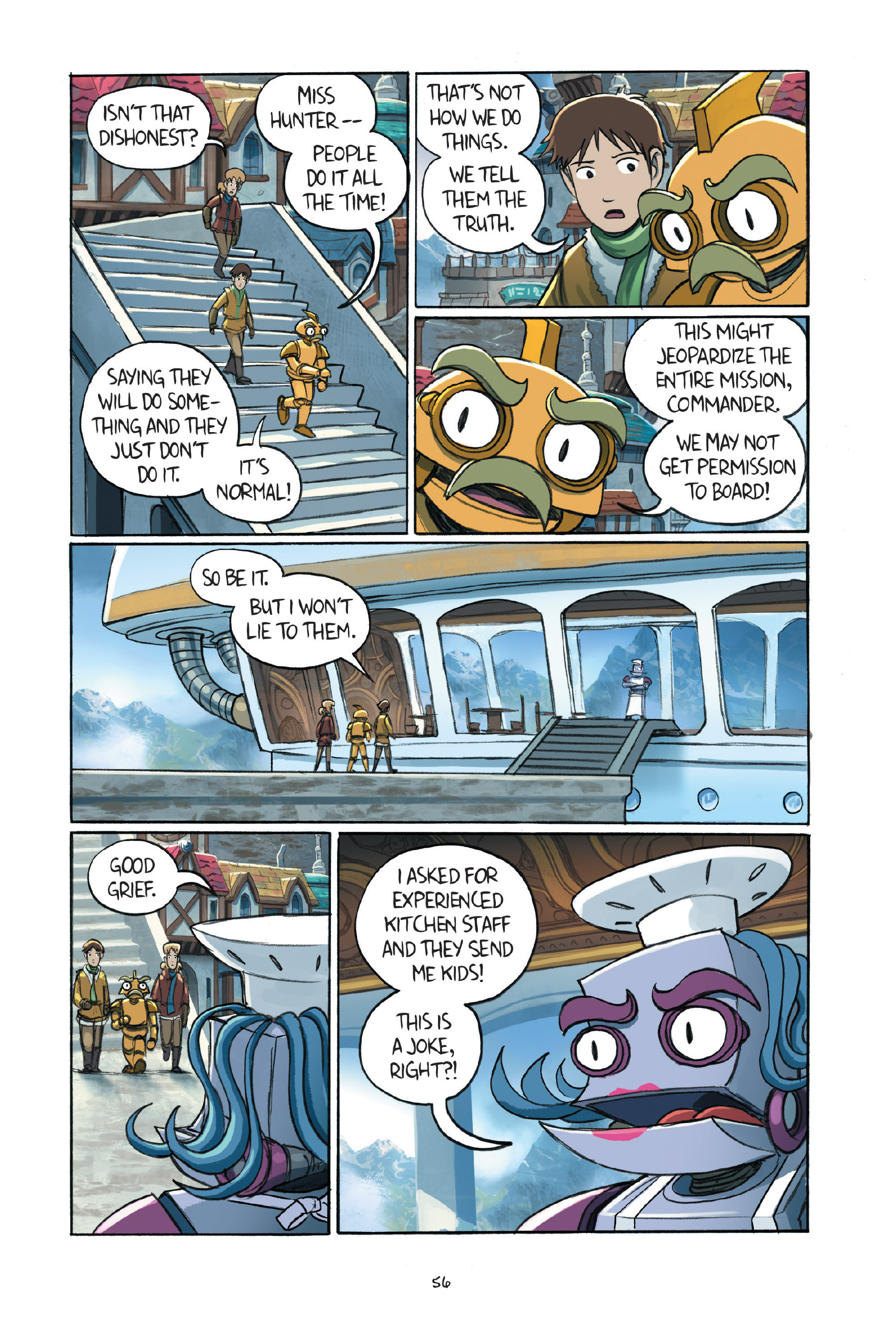 Read online Amulet comic -  Issue #7 - 58
