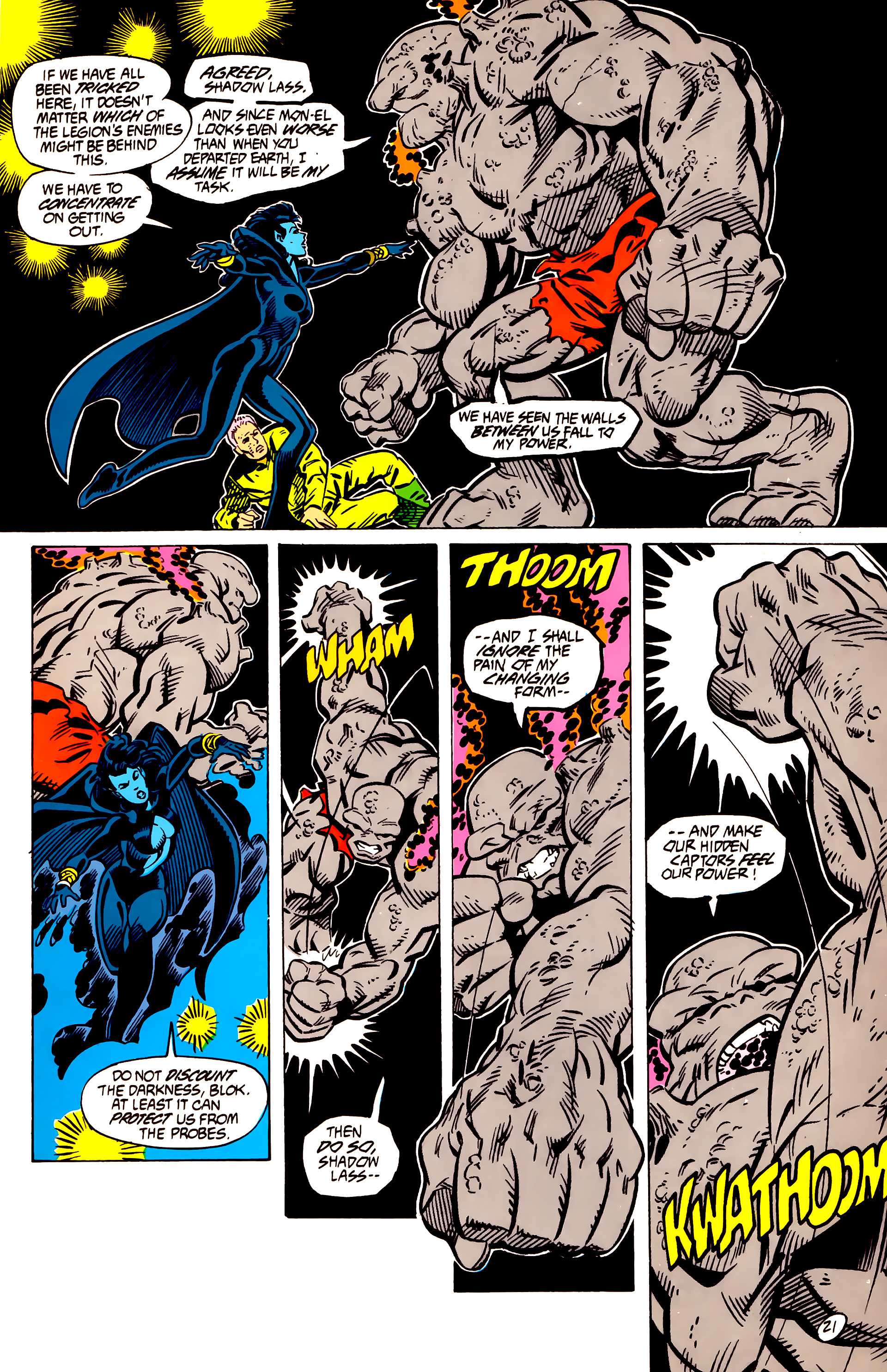 Legion of Super-Heroes (1984) 56 Page 21
