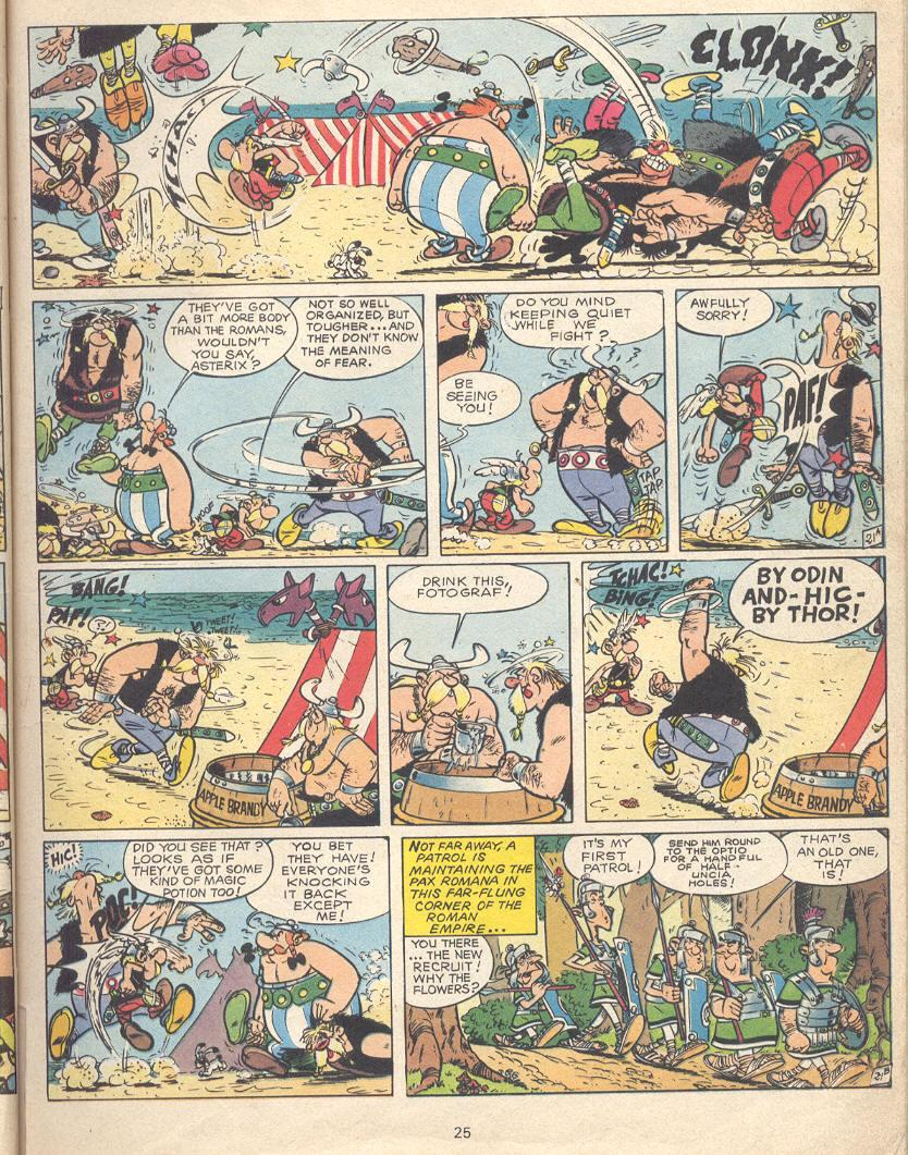Read online Asterix comic -  Issue #9 - 22