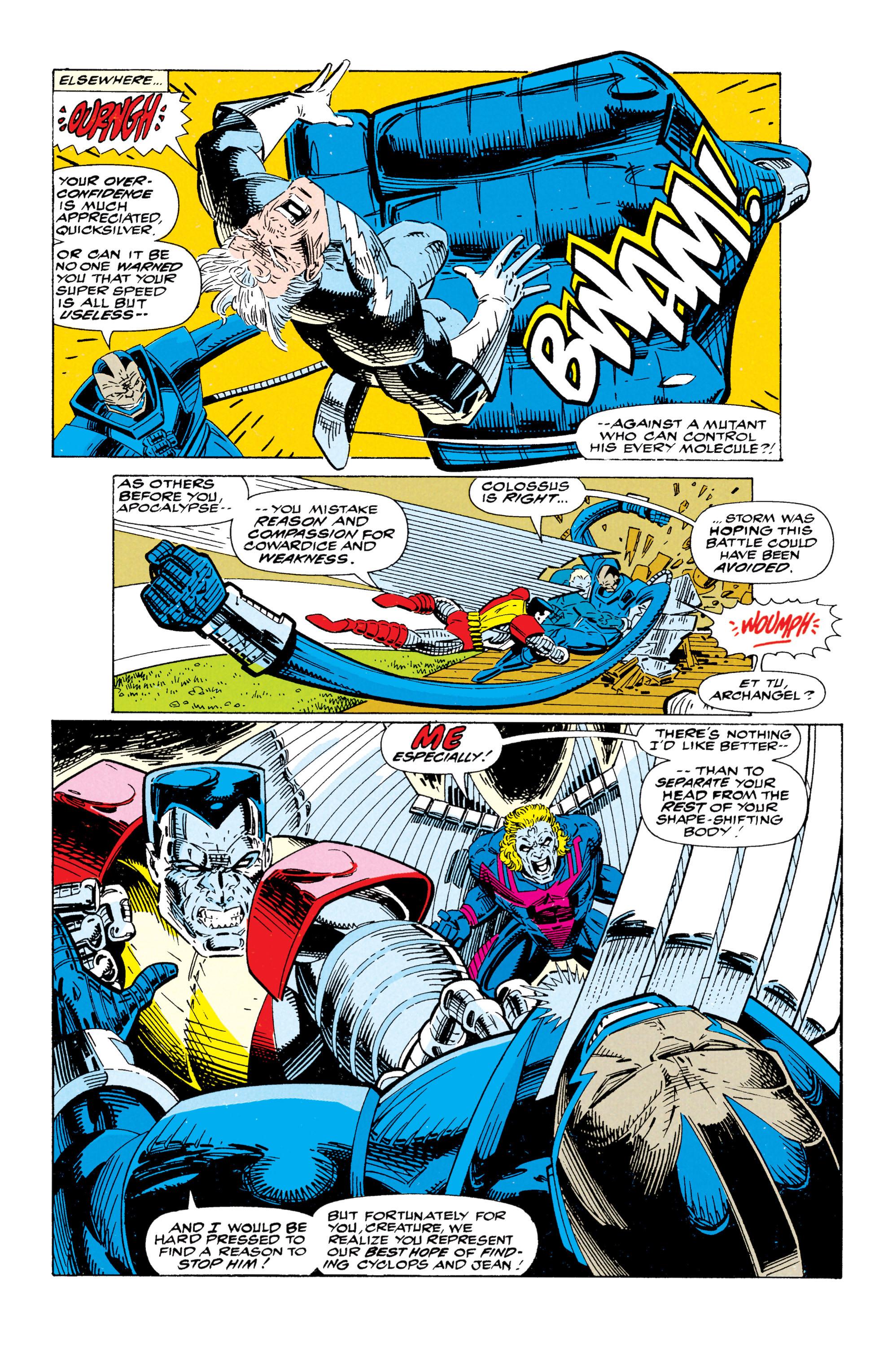 Read online Uncanny X-Men (1963) comic -  Issue #295 - 17