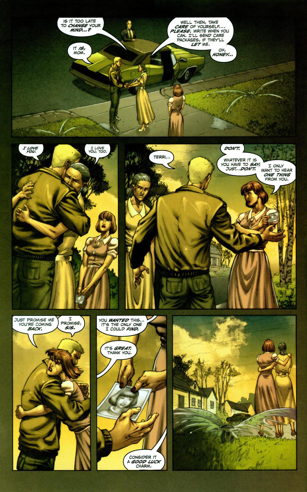 Read online Snake Eyes: Declassified comic -  Issue #1 - 6