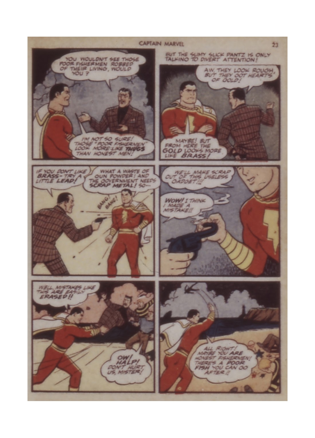Captain Marvel Adventures issue 12 - Page 23