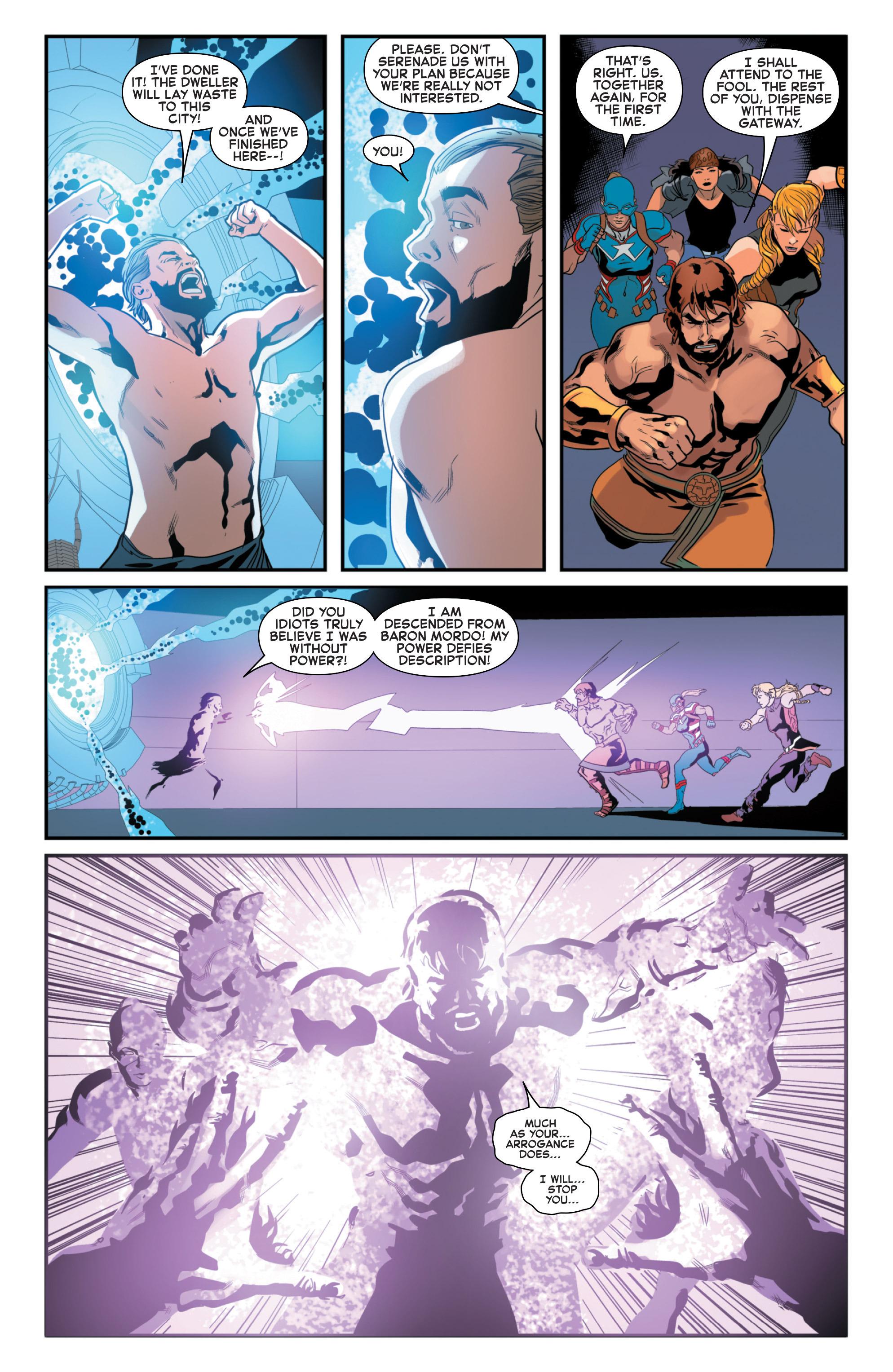 Read online Secret Wars 2099 comic -  Issue #5 - 12