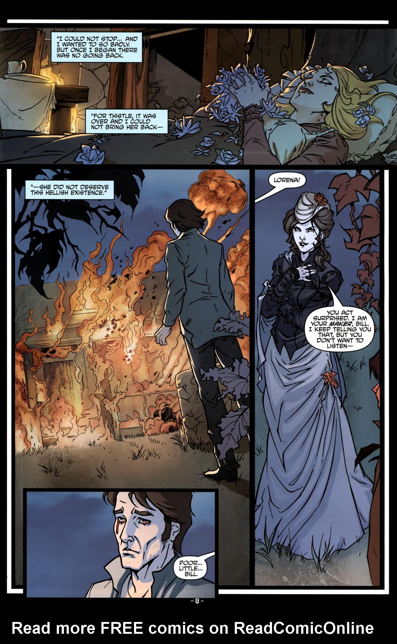 Read online True Blood (2010) comic -  Issue #6 - 11