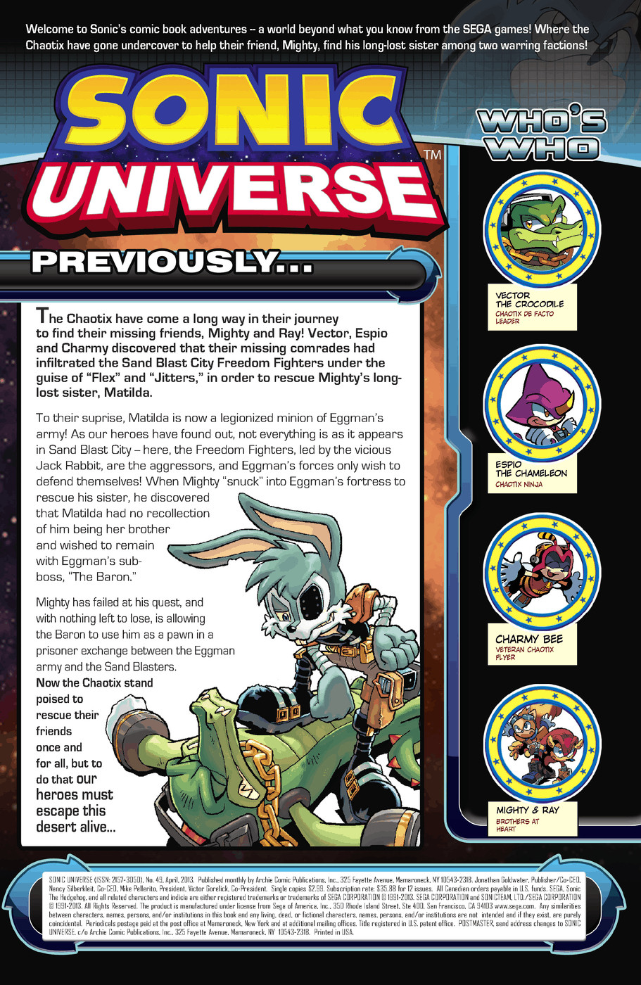 Read online Sonic Universe comic -  Issue #49 - 2