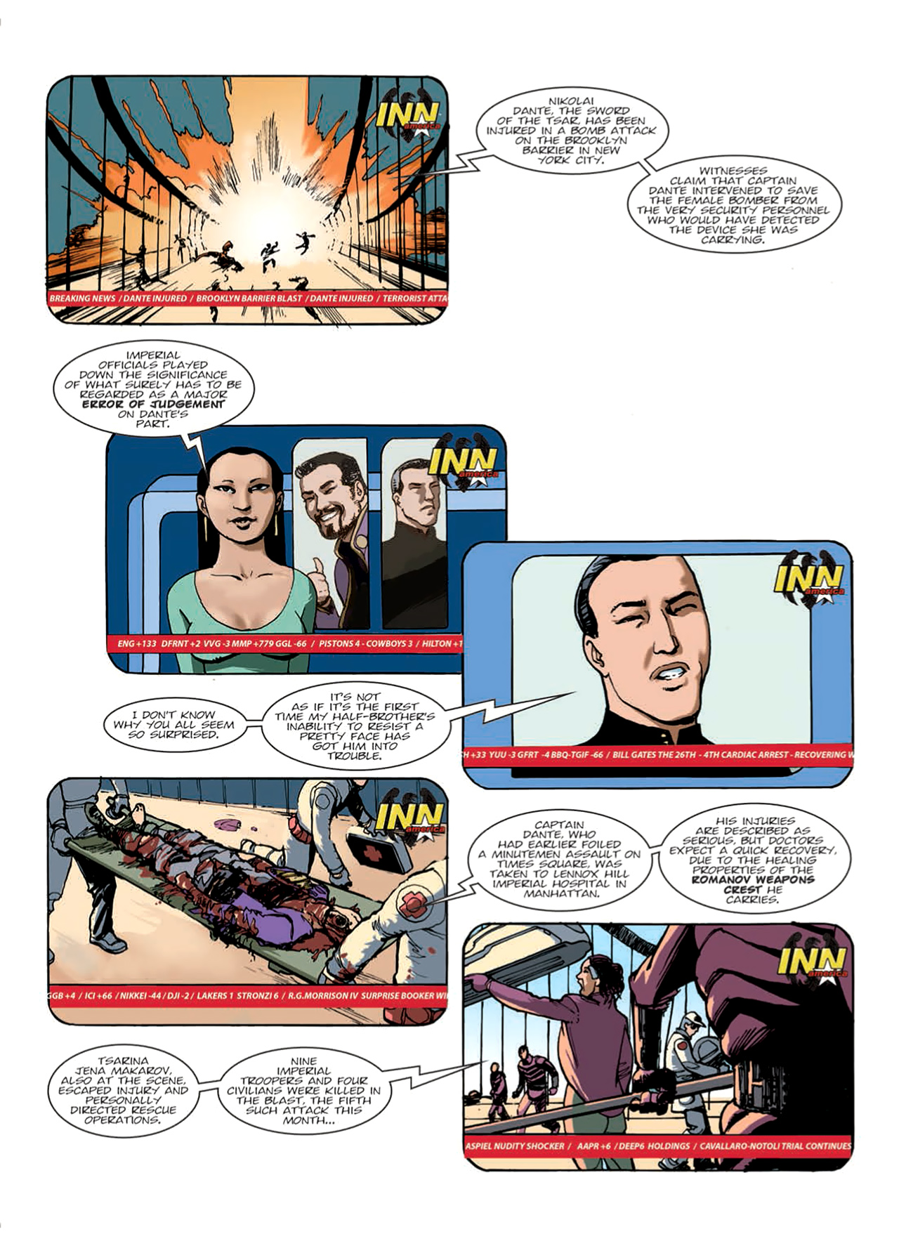 Read online Nikolai Dante comic -  Issue # TPB 9 - 18