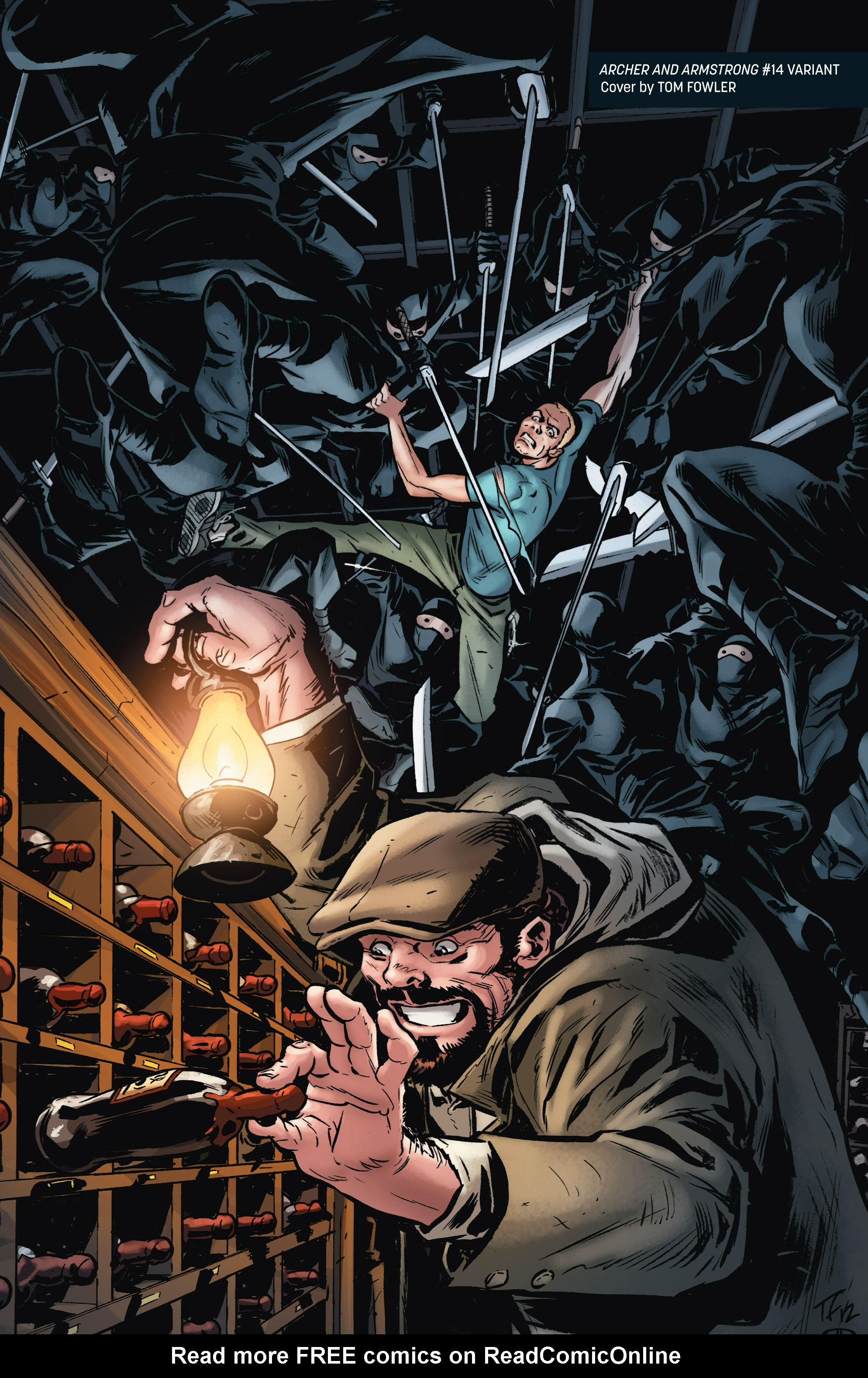 Read online Archer and Armstrong comic -  Issue #Archer and Armstrong _TPB 4 - 100