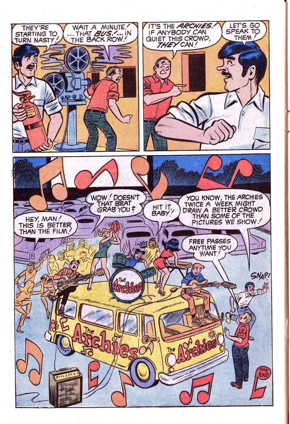 Read online Archie (1960) comic -  Issue #201 - 8