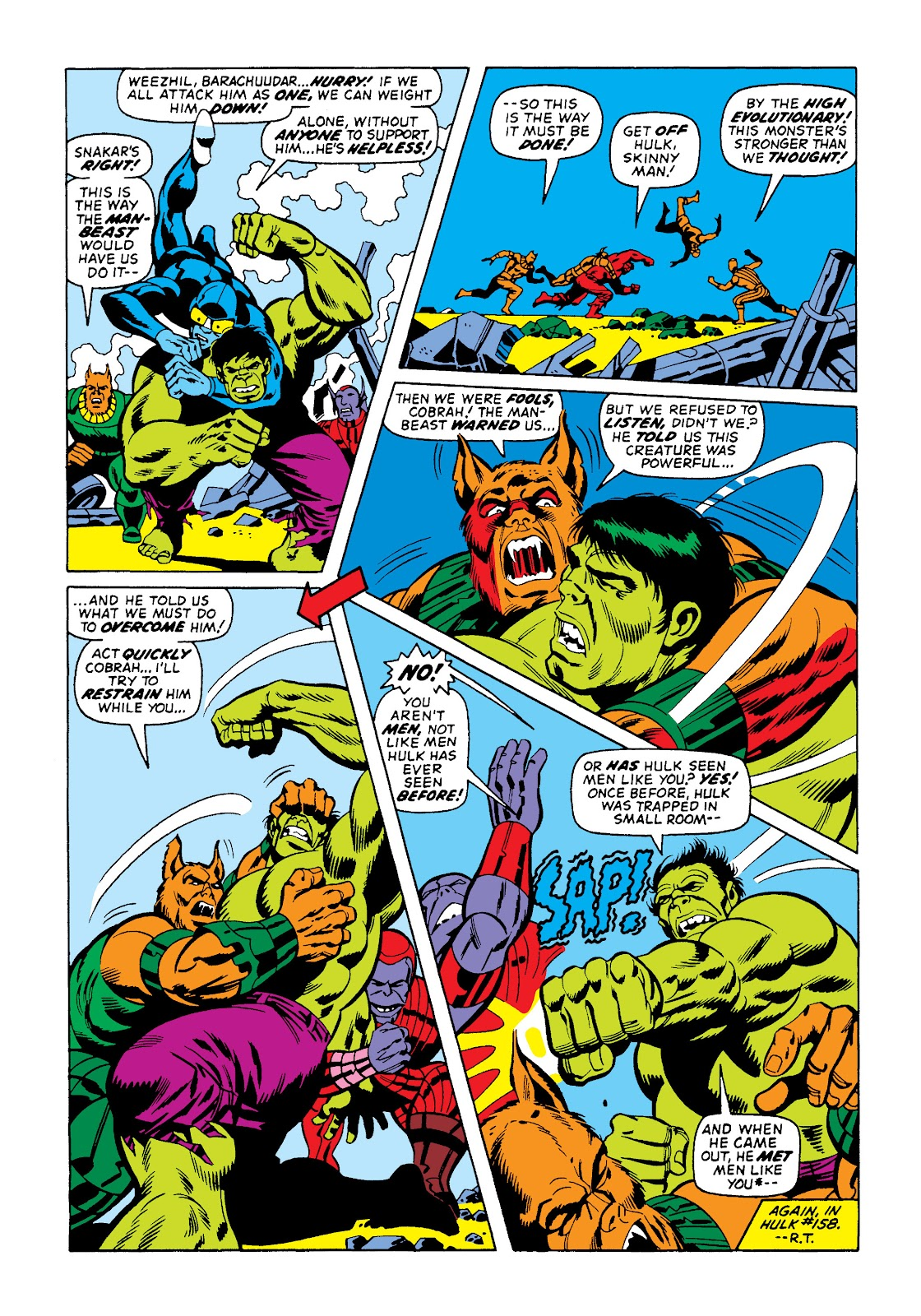 Read online Marvel Masterworks: The Incredible Hulk comic -  Issue # TPB 10 (Part 2) - 24