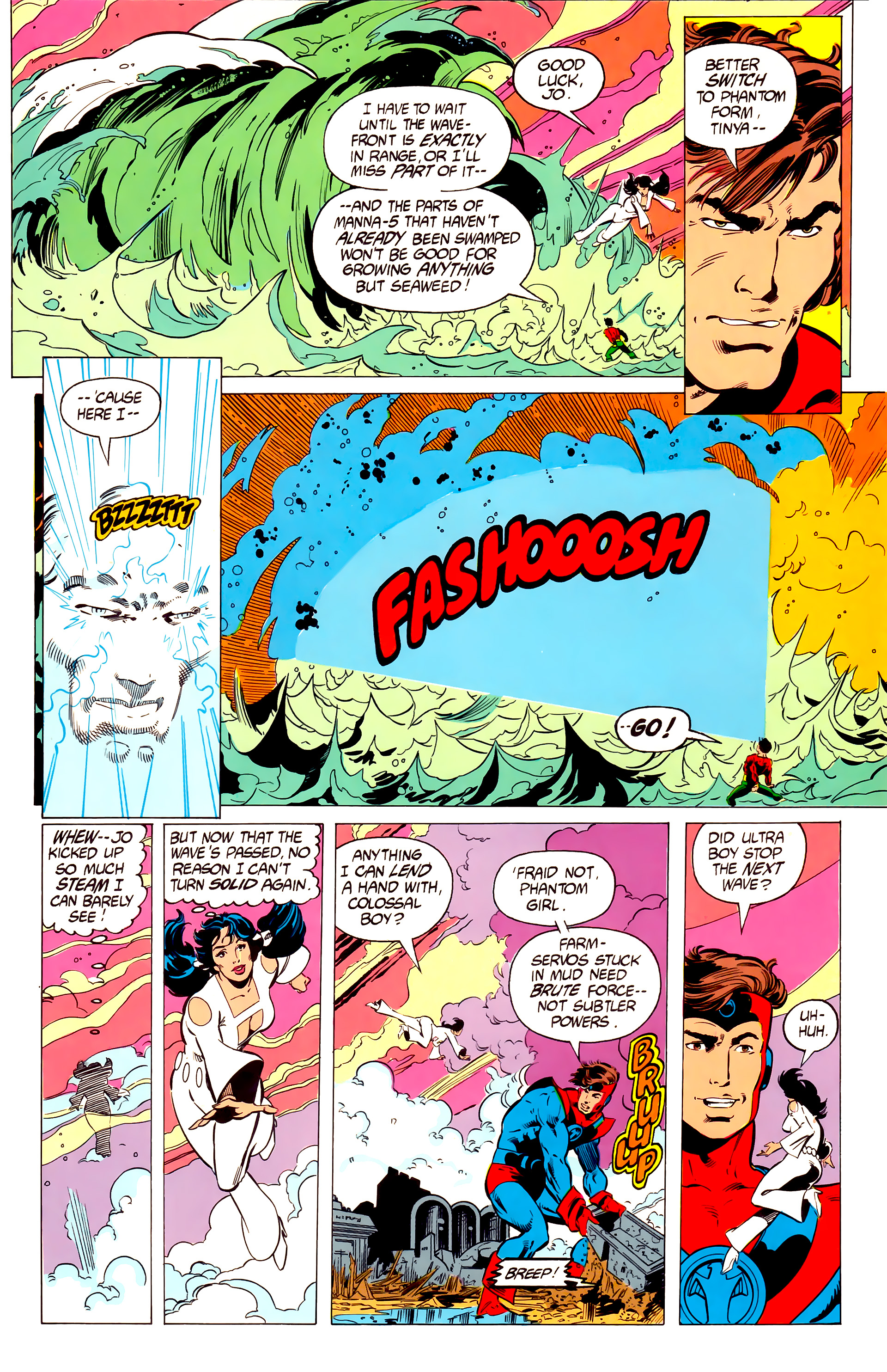 Legion of Super-Heroes (1984) 19 Page 3