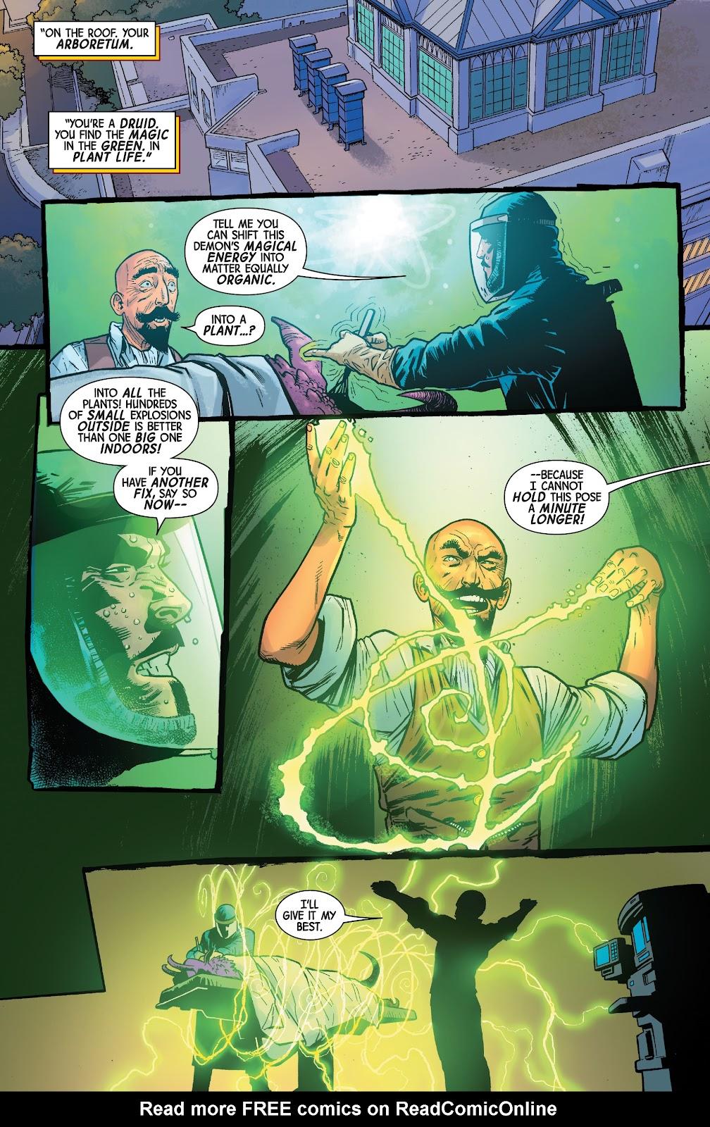 Read online Dr. Strange comic -  Issue #4 - 17