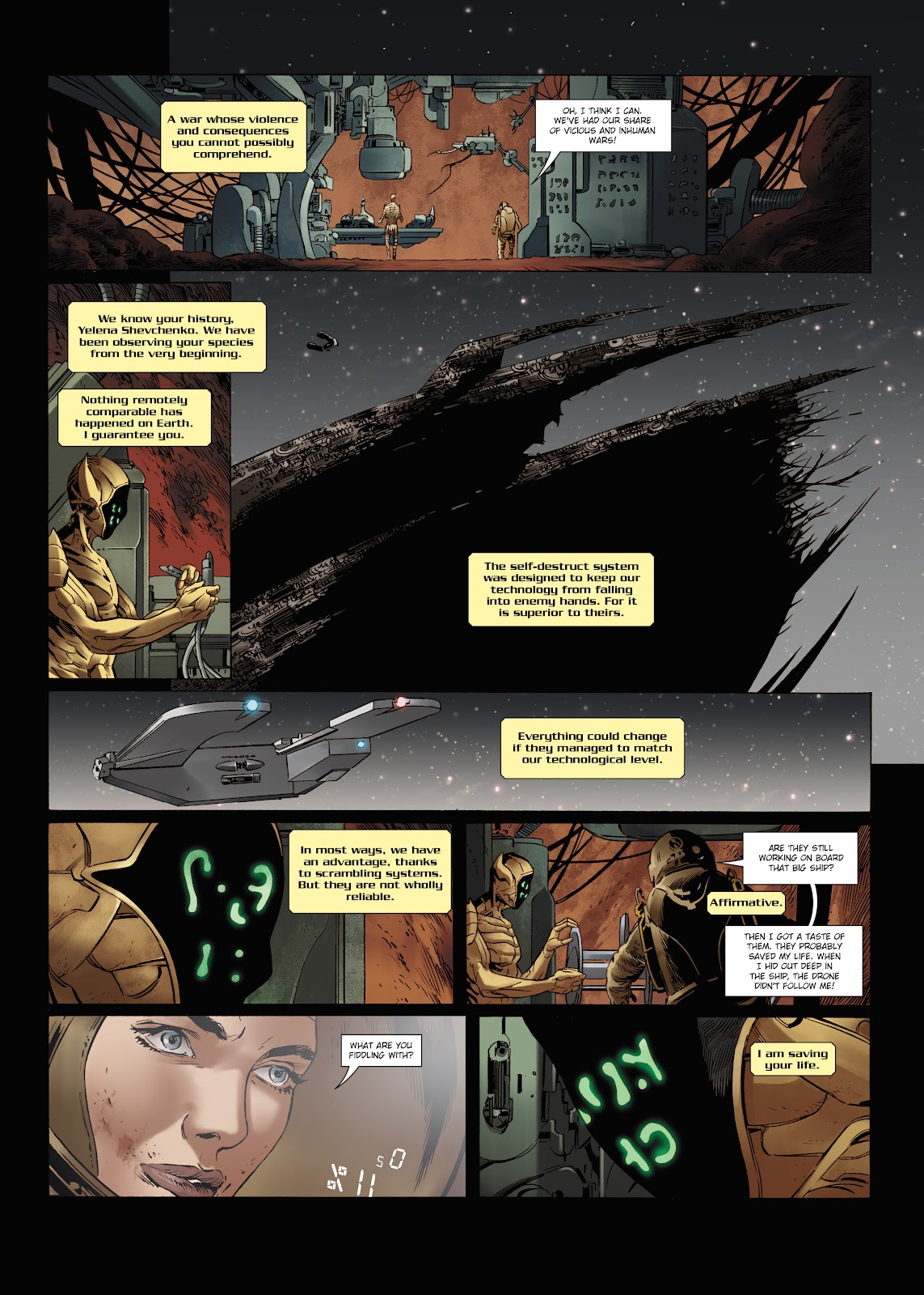Read online Olympus Mons Vol. 1: Anomaly One comic -  Issue #5 - 26