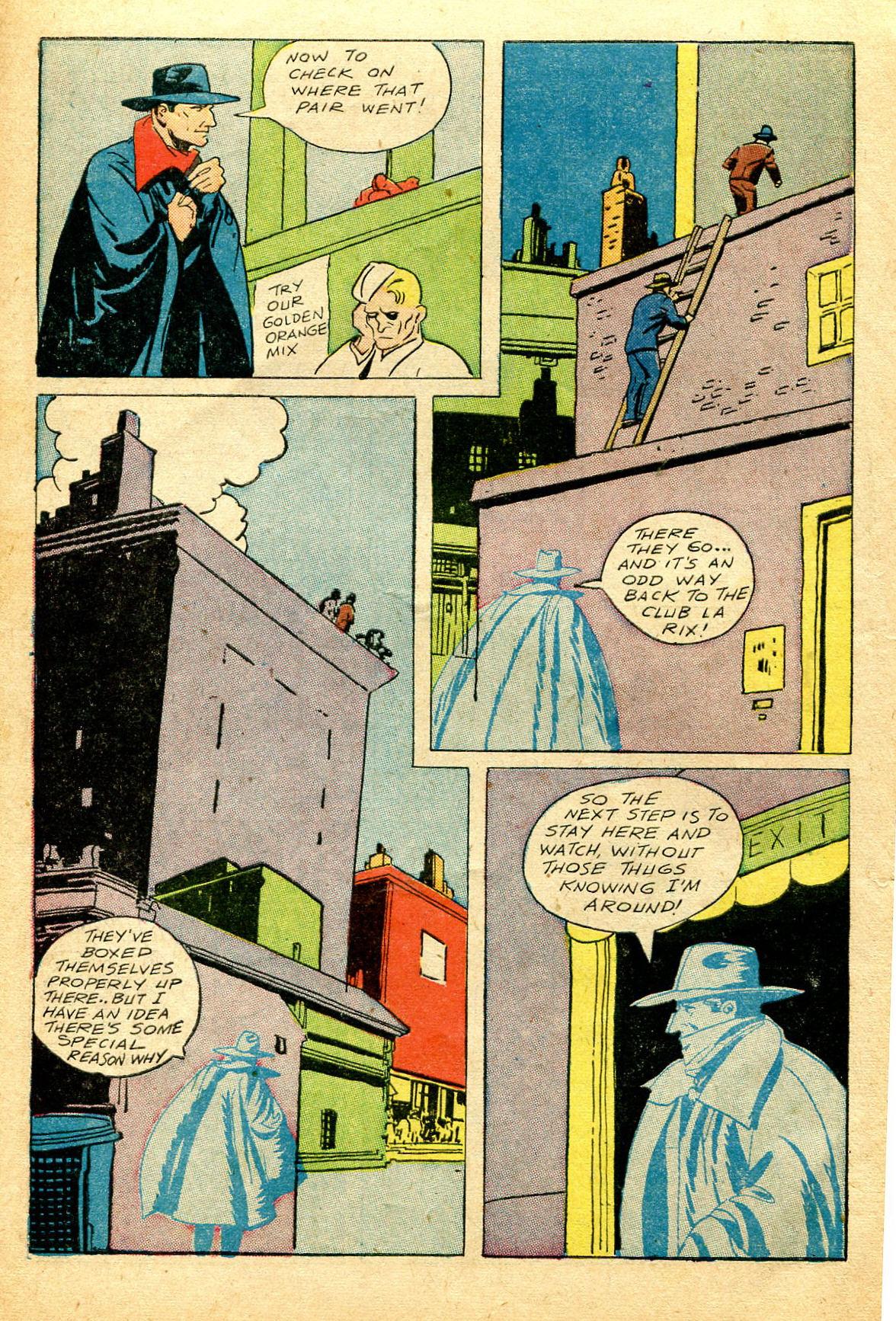 Read online Shadow Comics comic -  Issue #51 - 11