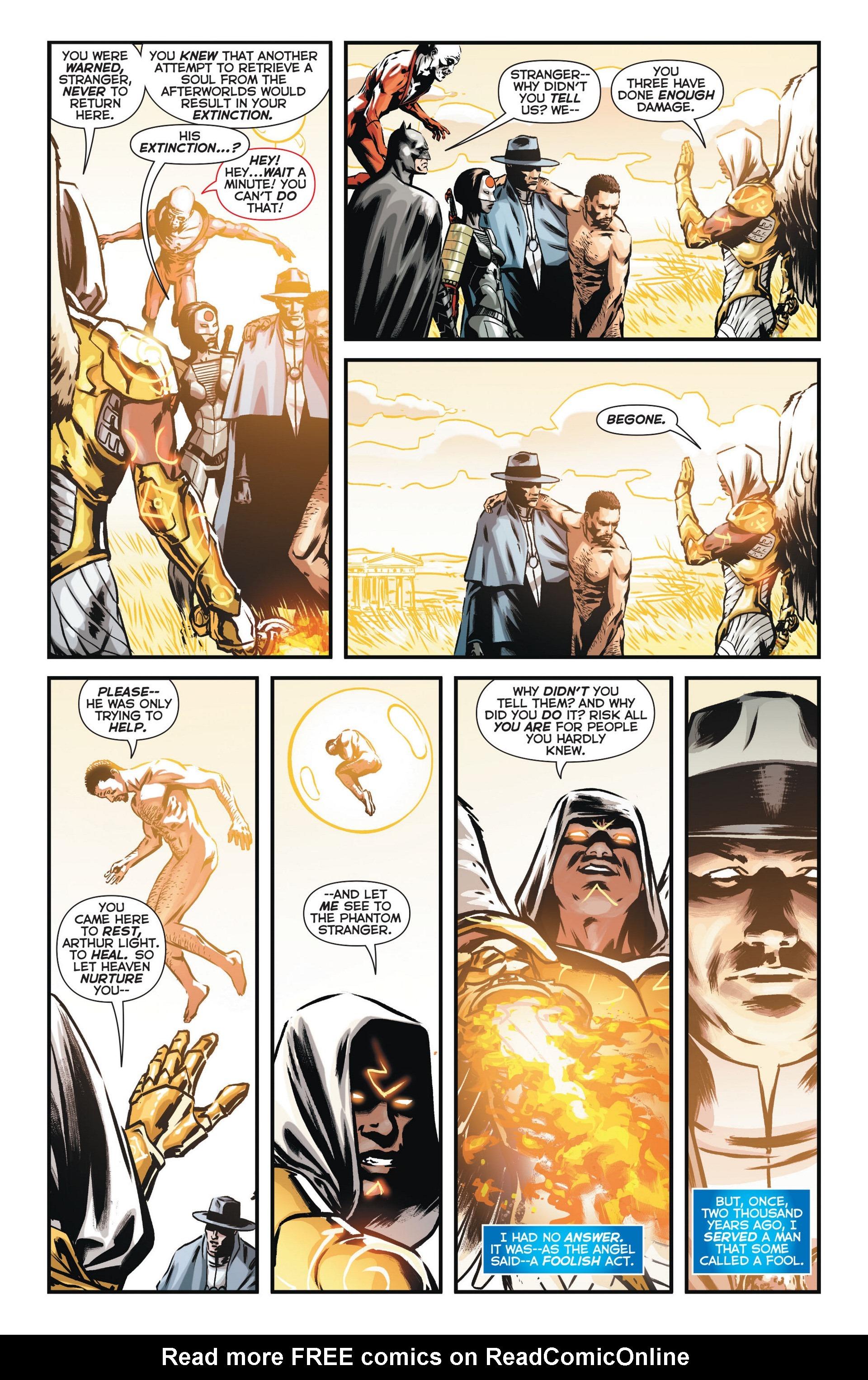 Read online Trinity of Sin: The Phantom Stranger comic -  Issue #11 - 21