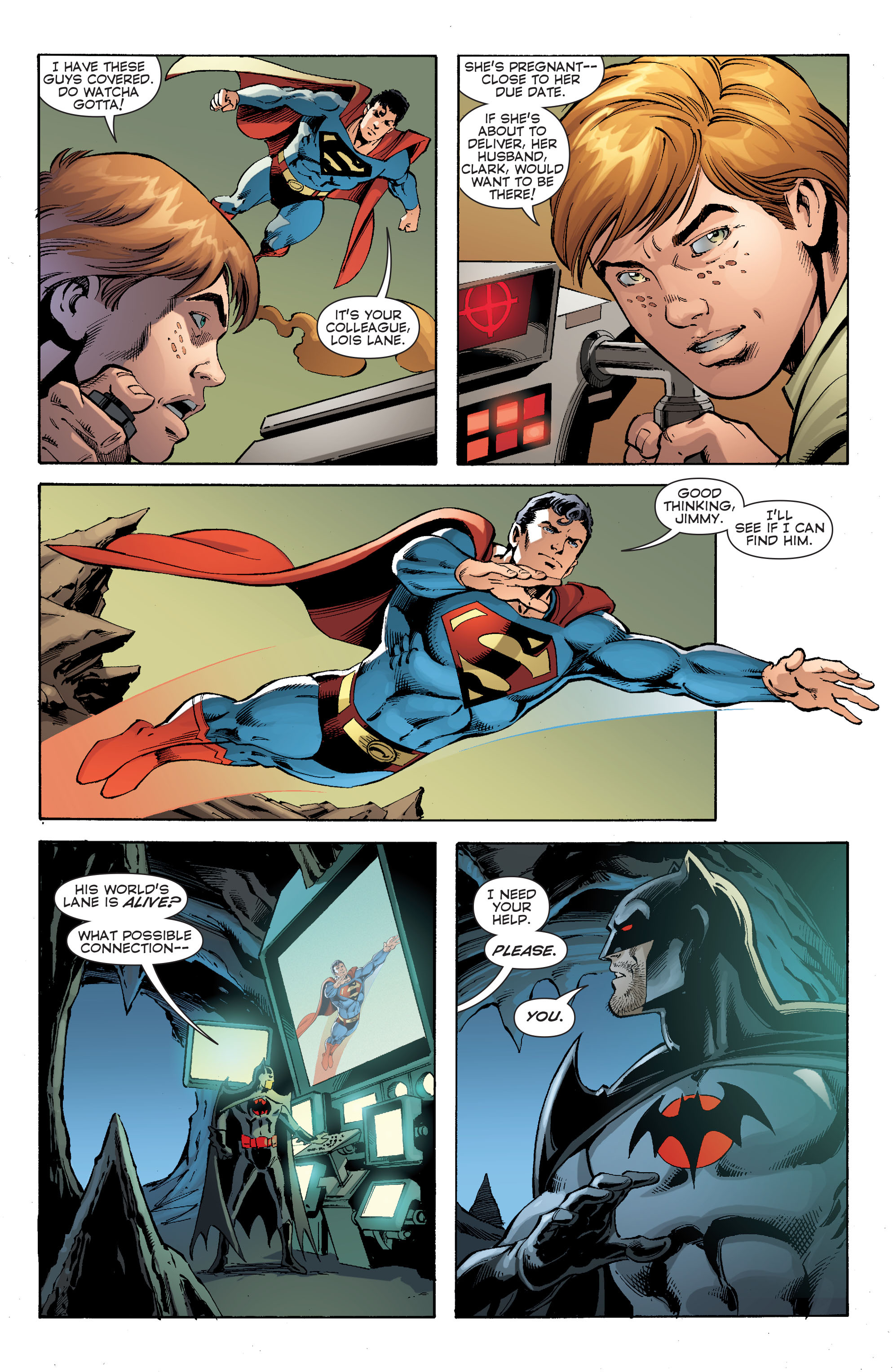 Read online Convergence Superman comic -  Issue #2 - 11
