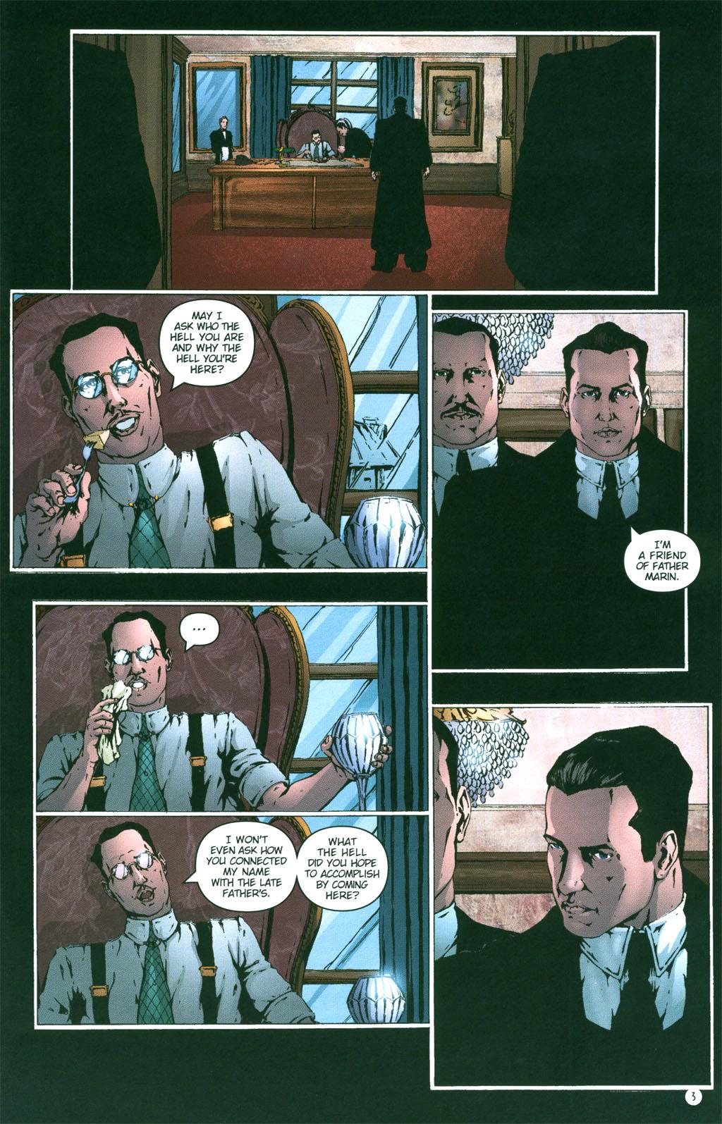 Read online Rex Mundi comic -  Issue #4 - 5