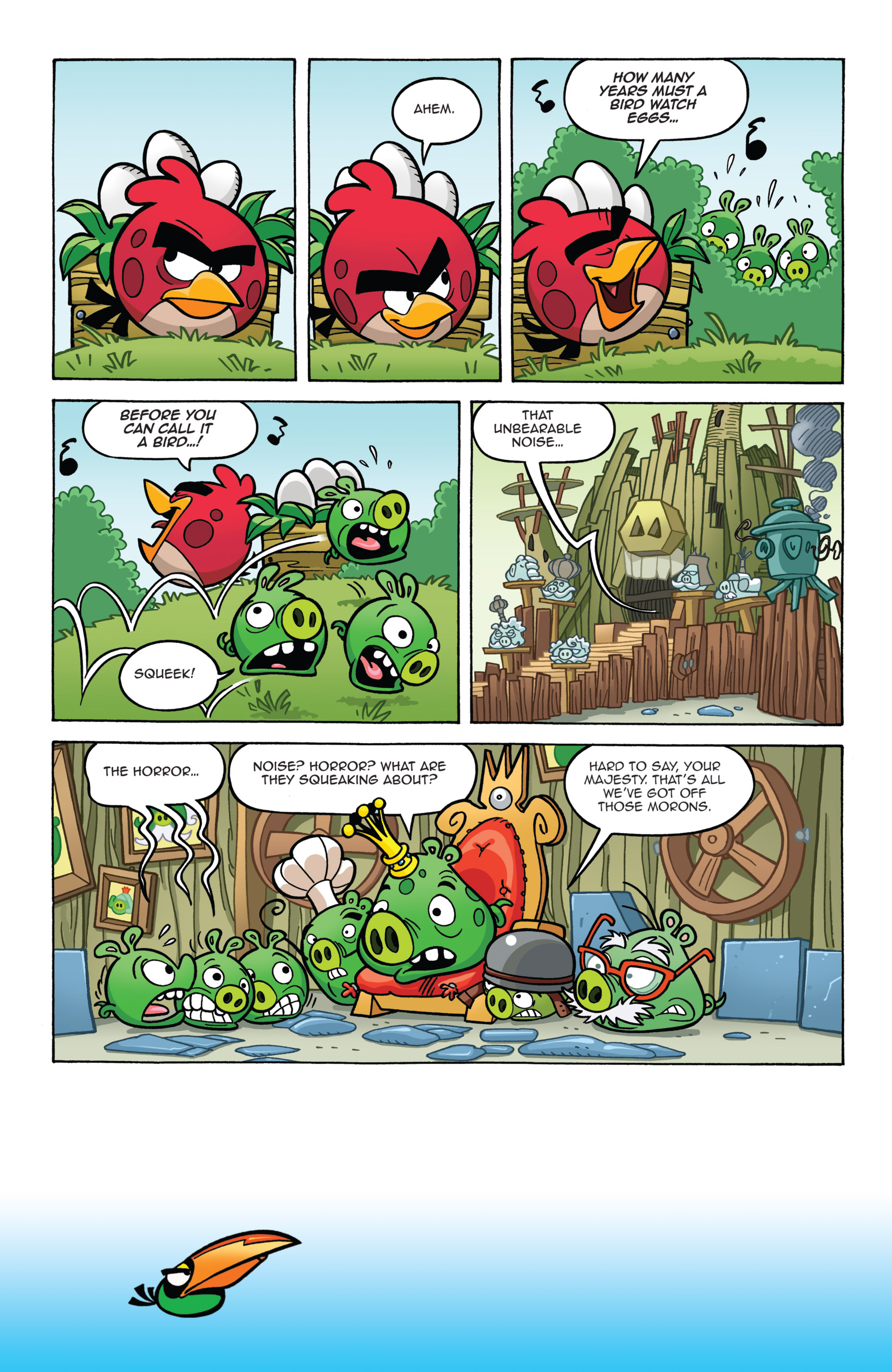 Read online Angry Birds Comics (2014) comic -  Issue #7 - 4