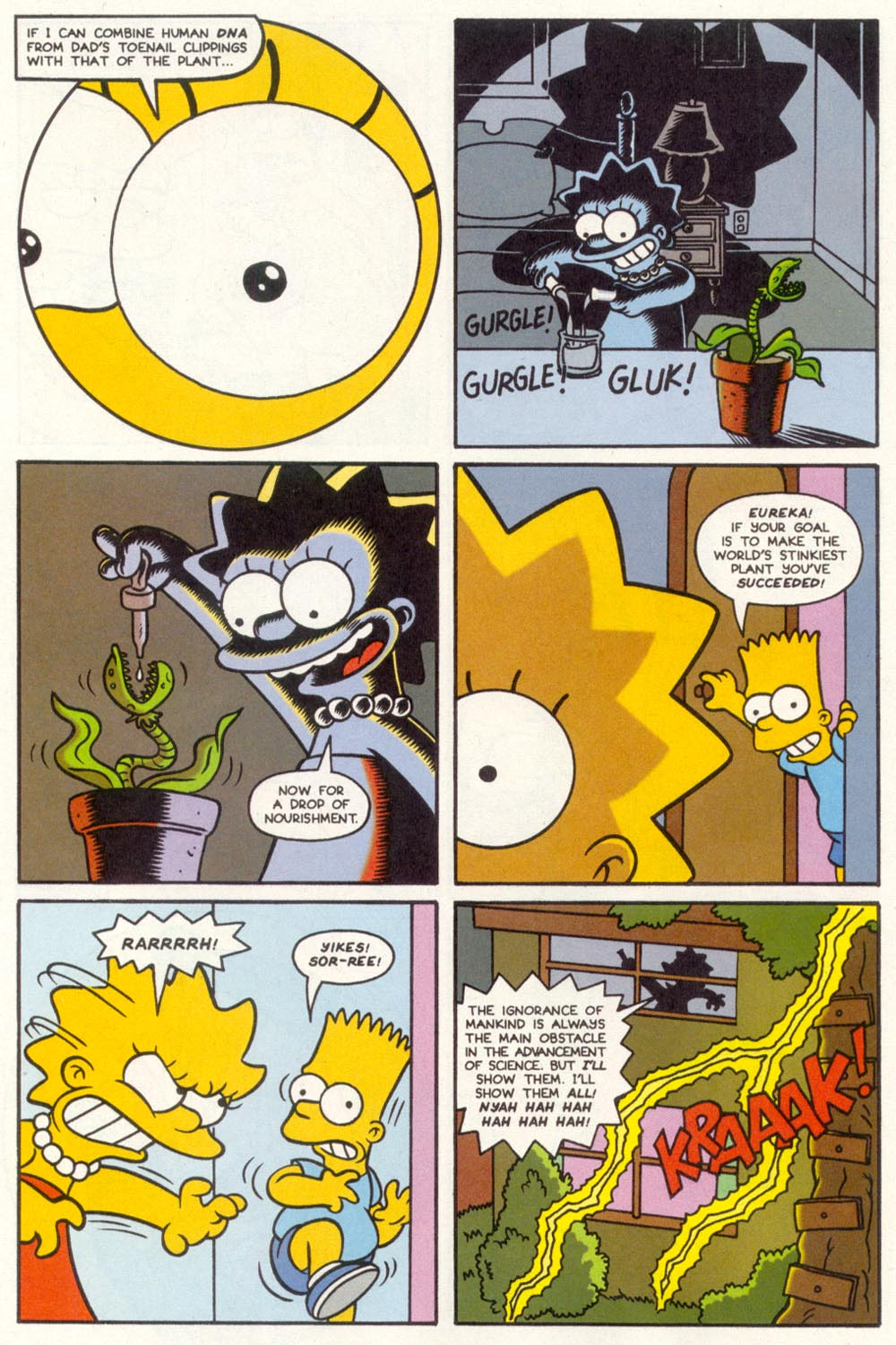Read online Treehouse of Horror comic -  Issue #1 - 6