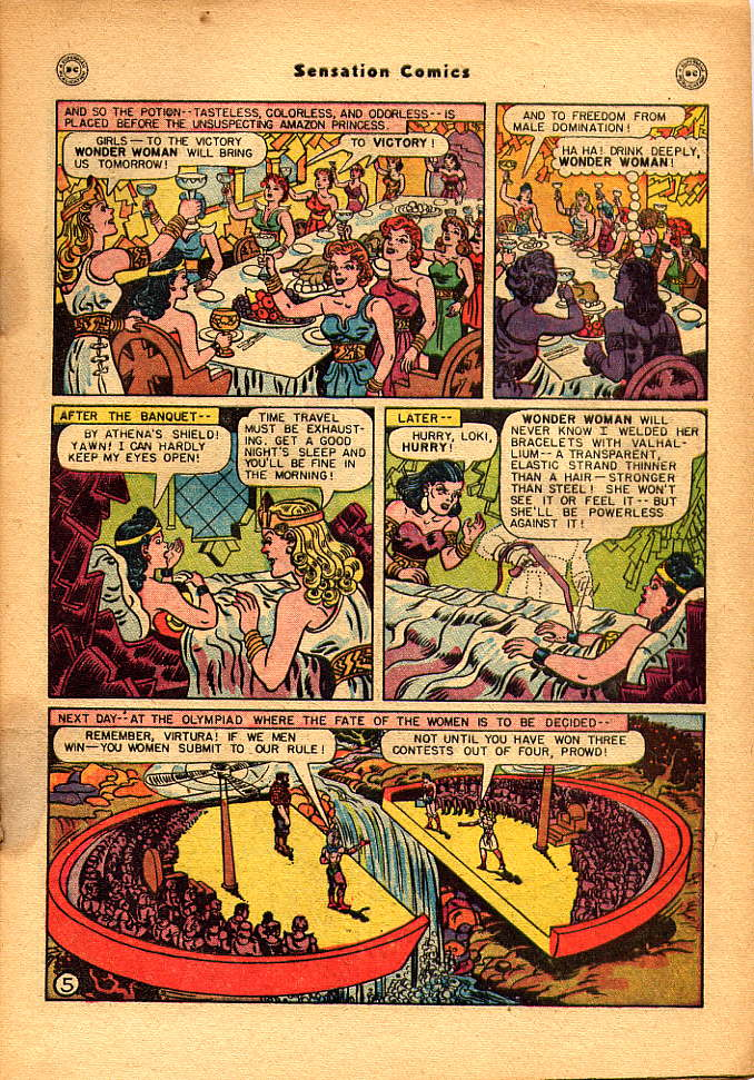 Read online Sensation (Mystery) Comics comic -  Issue #83 - 7