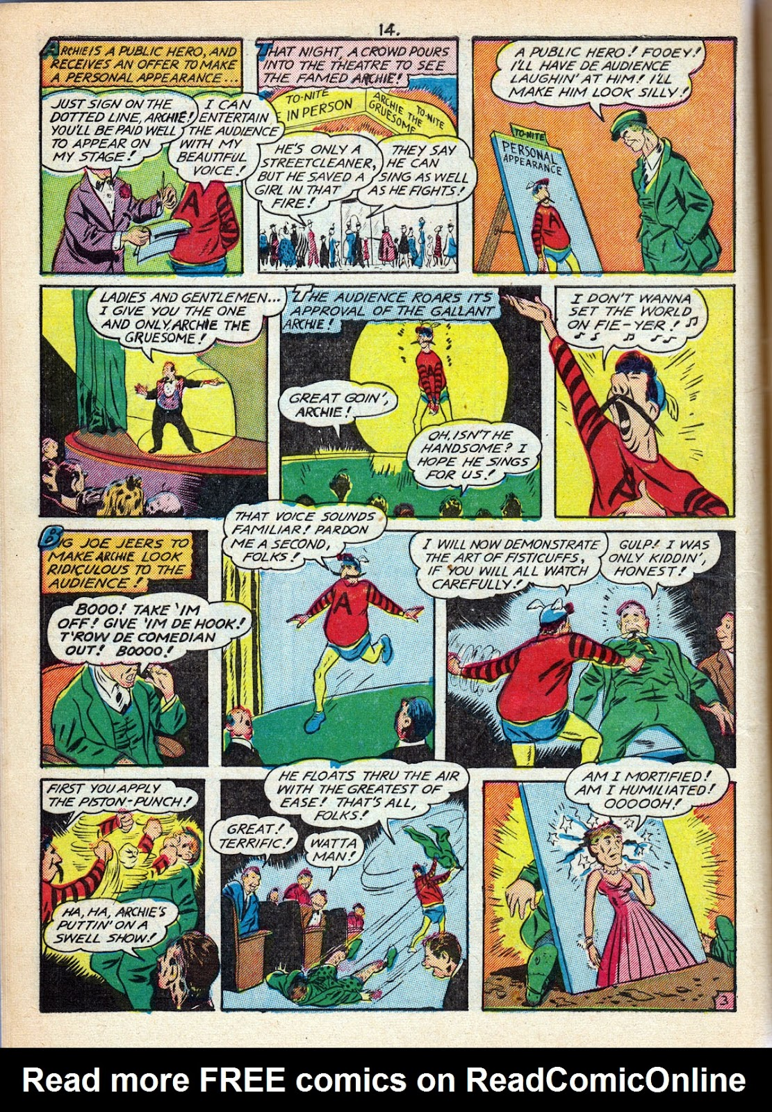 Read online Comedy Comics (1942) comic -  Issue #10 - 16
