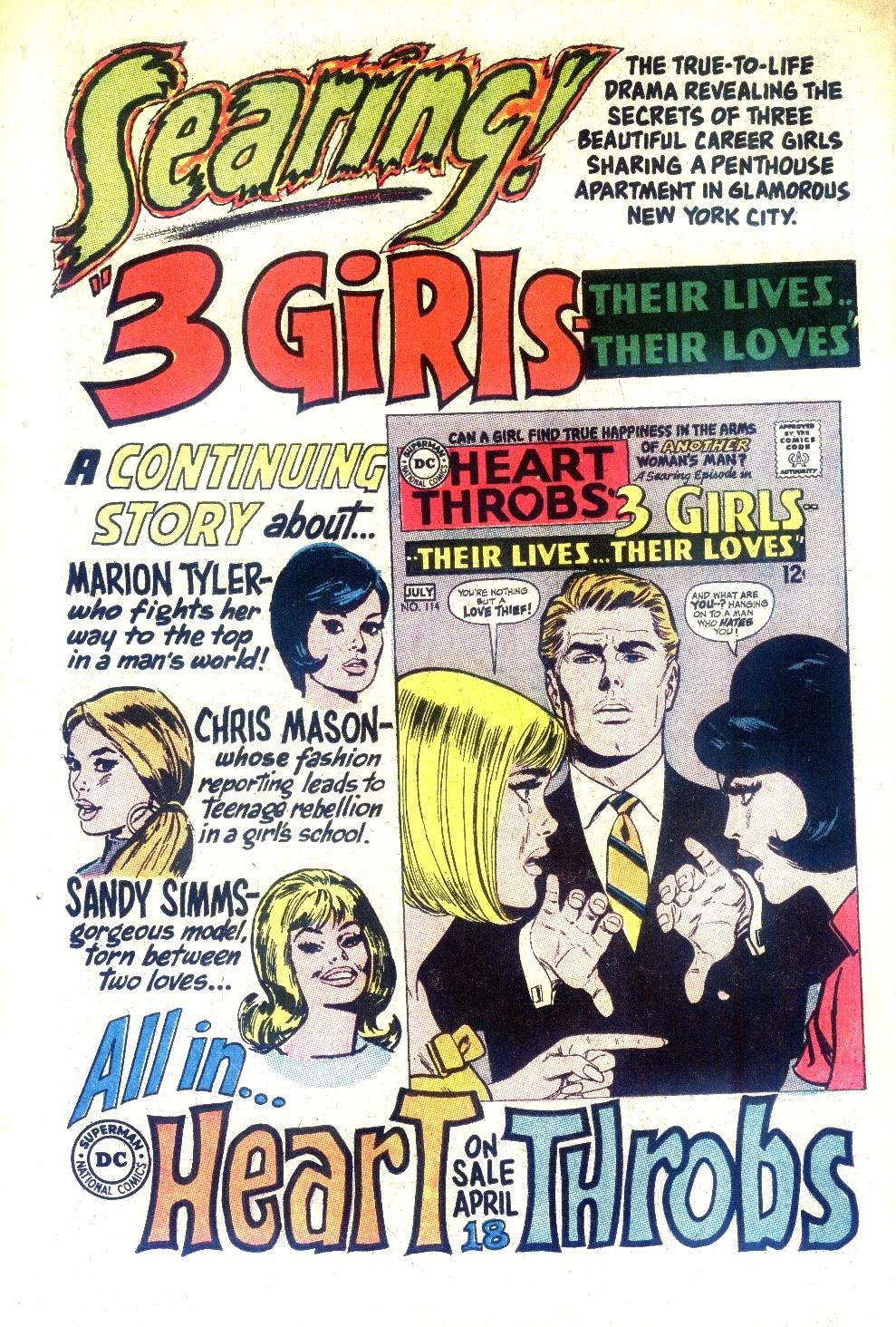 Read online Secret Hearts comic -  Issue #128 - 34